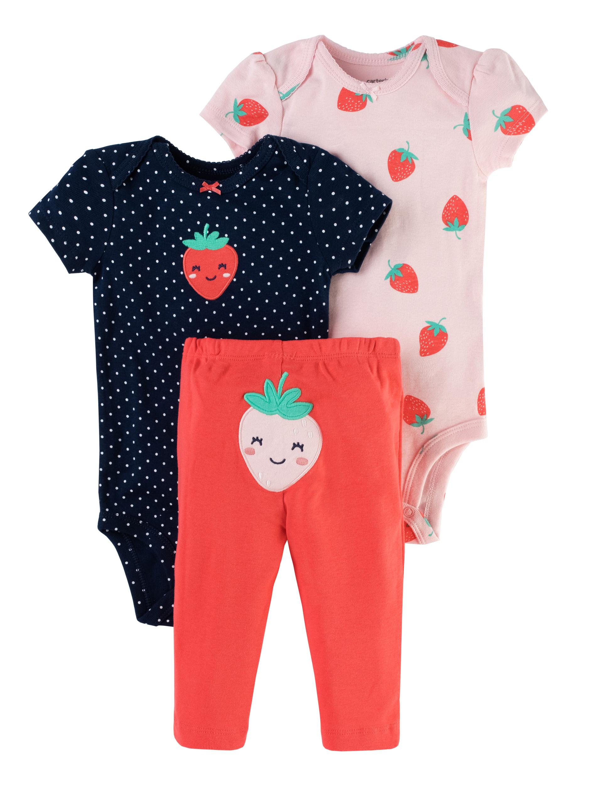 זוג בגדי גוף ומכנס תות