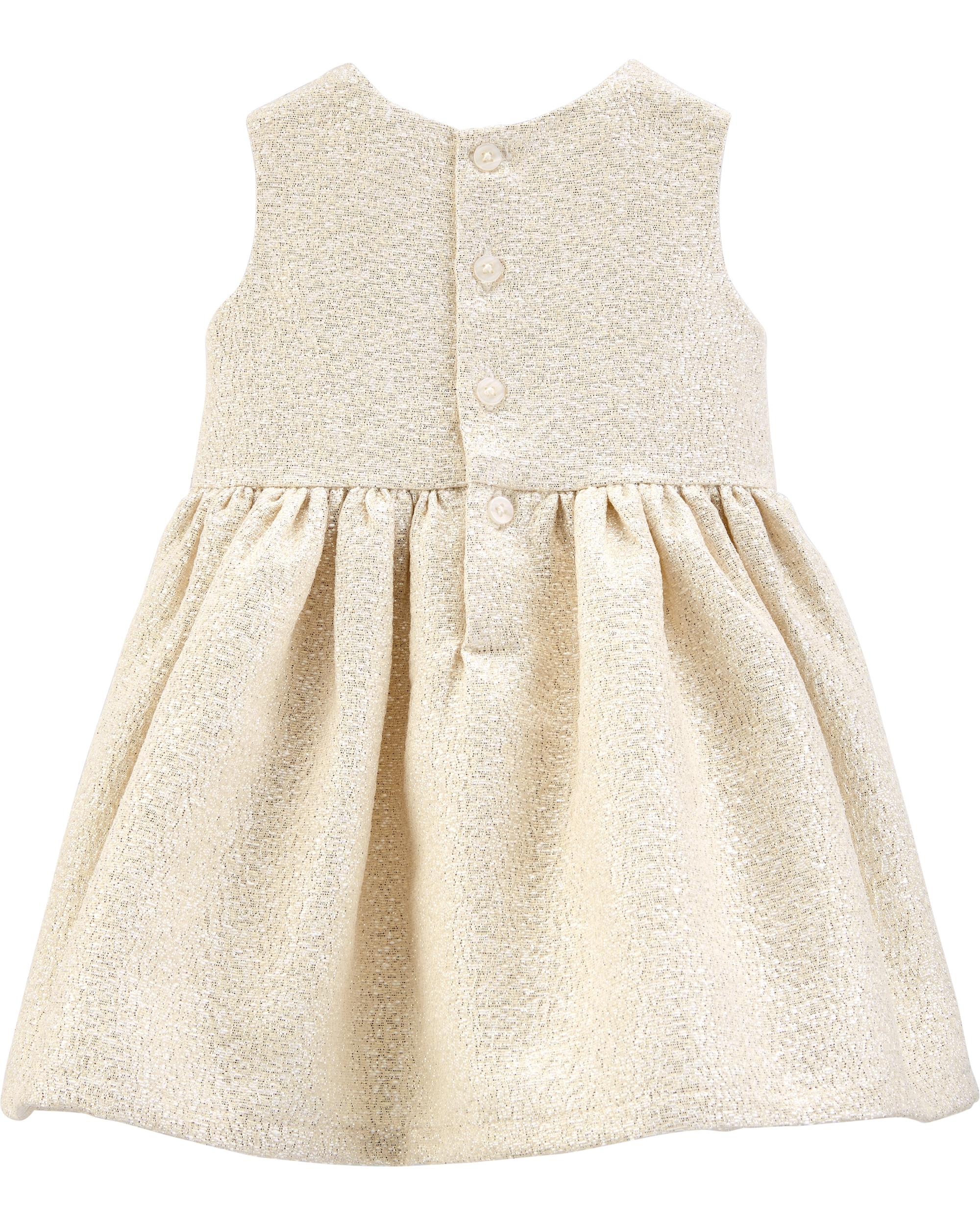 שמלת זהב פפיון