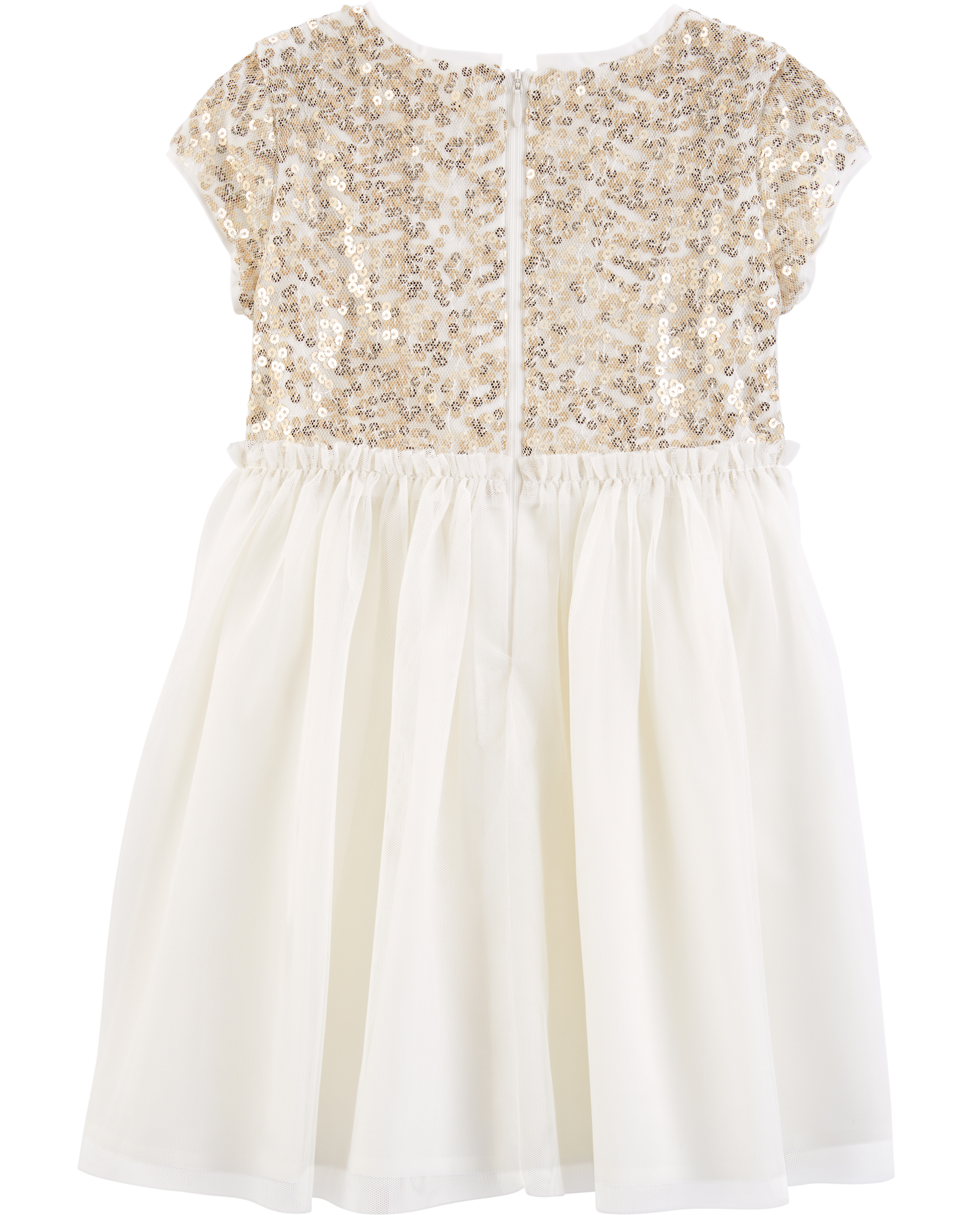 שמלת פייטים זהב