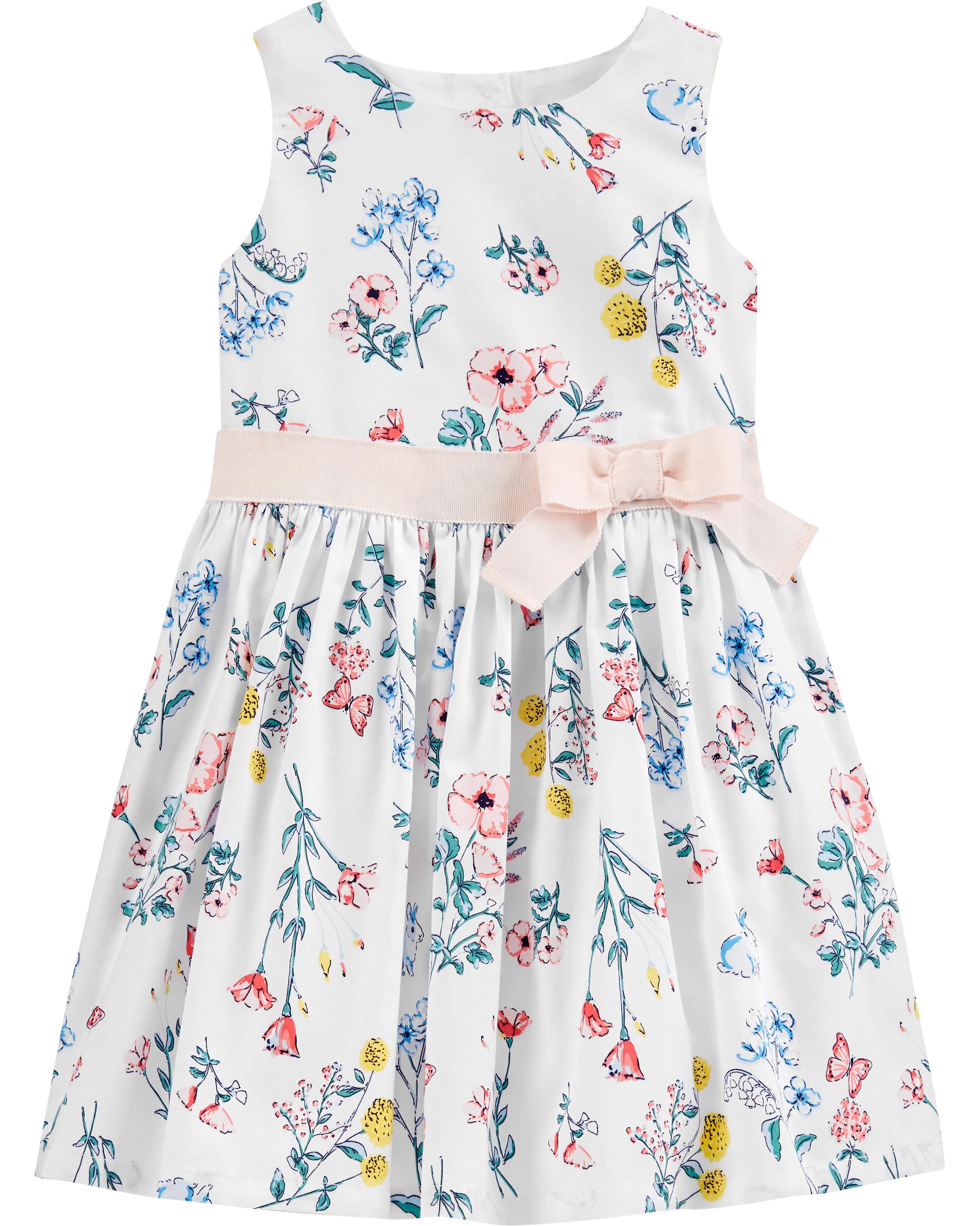 שמלת פרחים