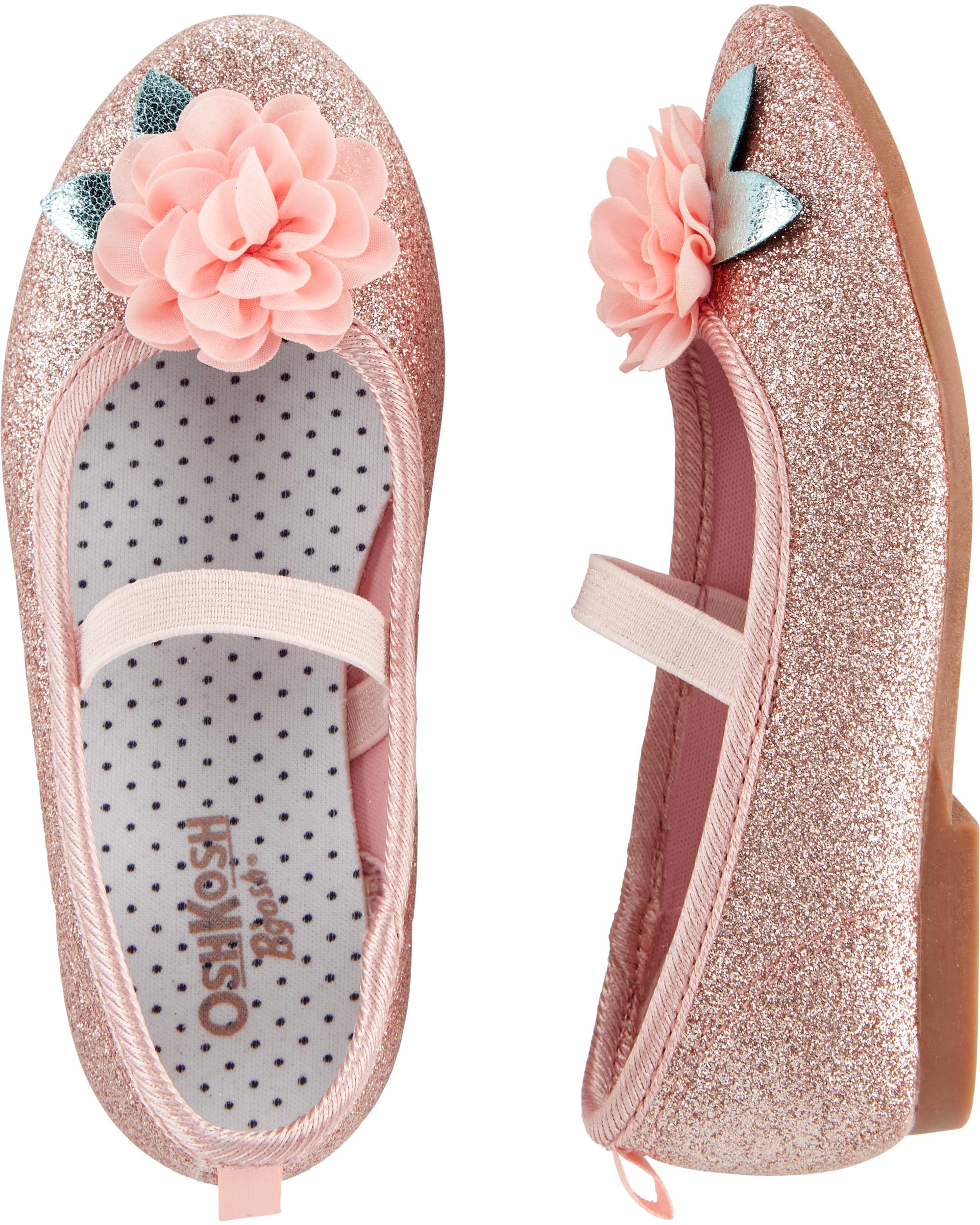 נעלי בובה פרחים קטנים
