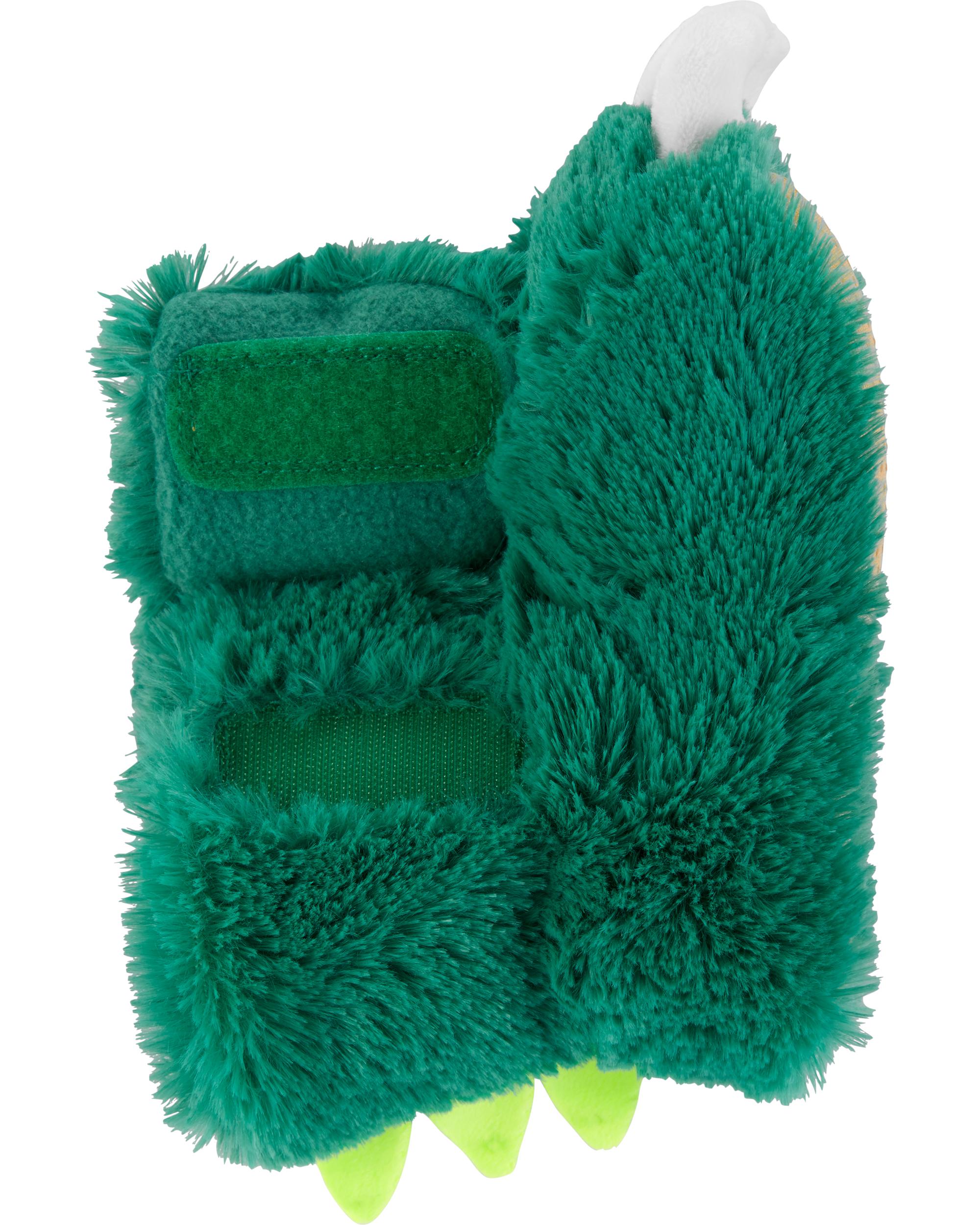 נעלי בית אצבעות ירוק