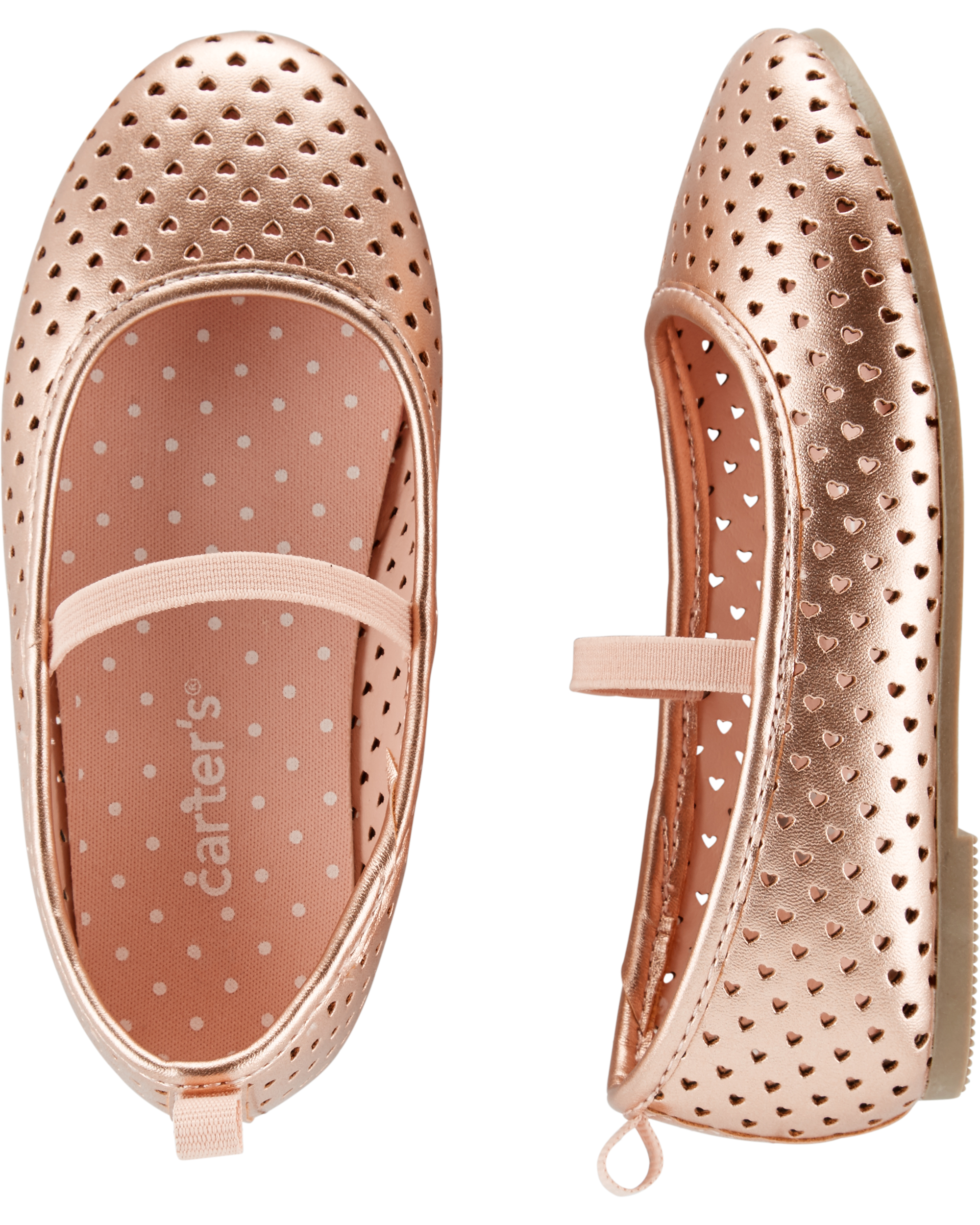 נעלי בובה רוז גולד
