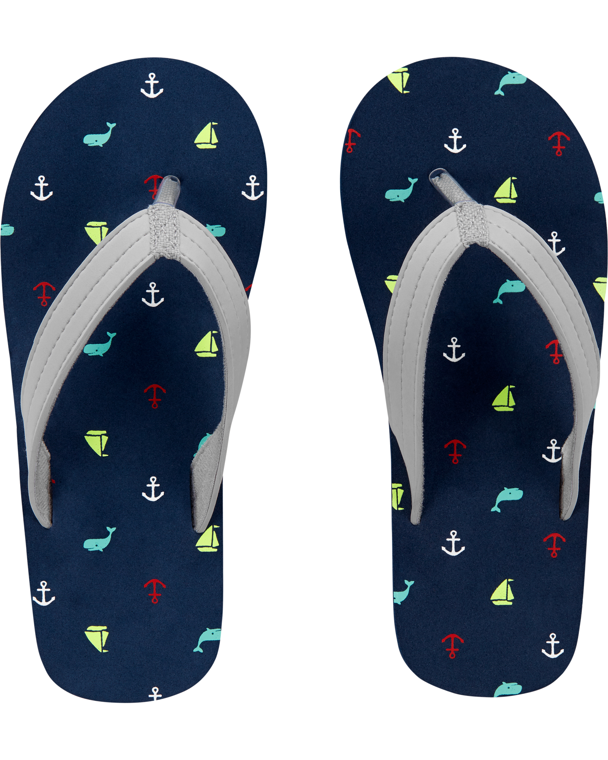 נעלי אצבע דפוס לויתנים