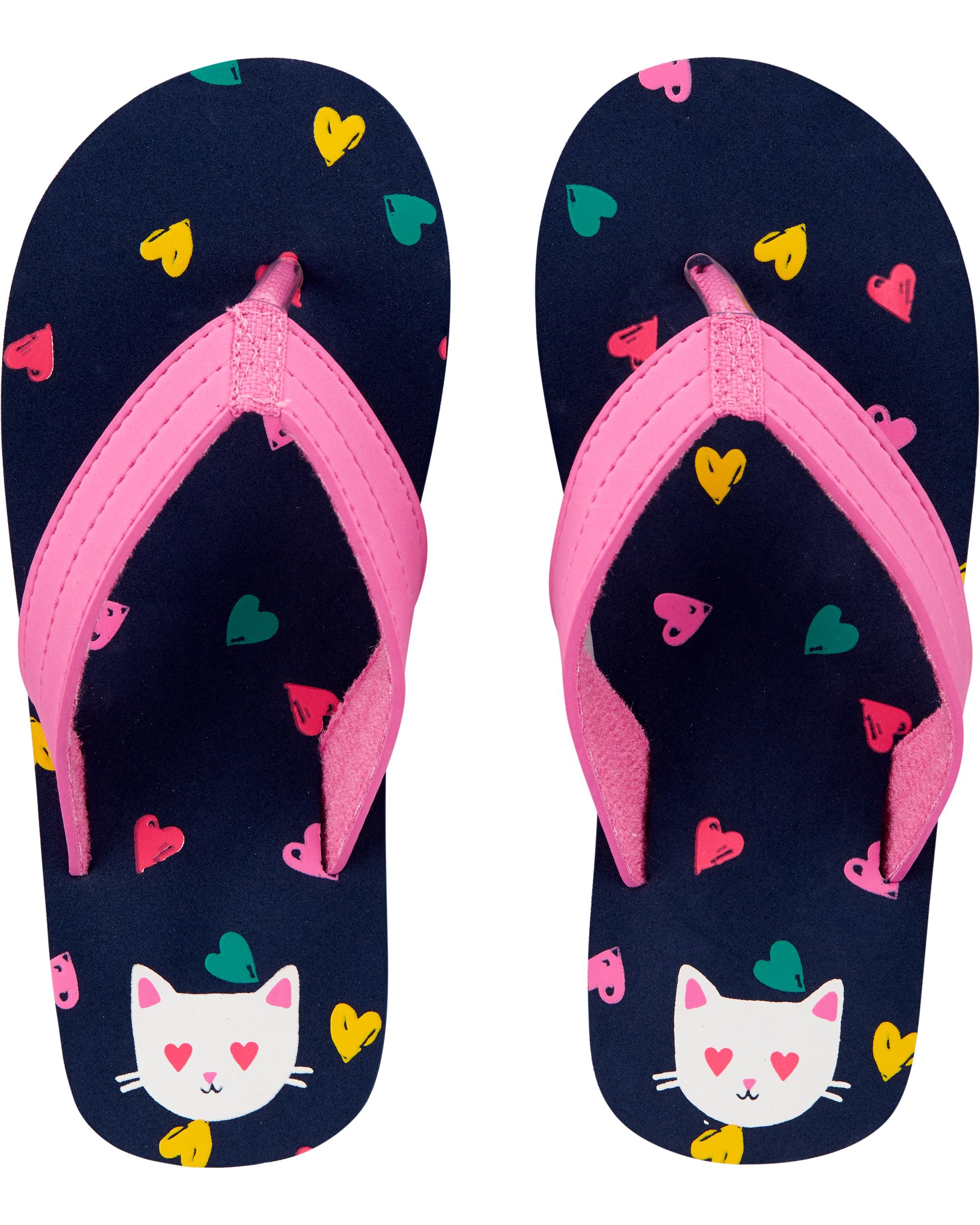 נעלי אצבע לבבות חתול