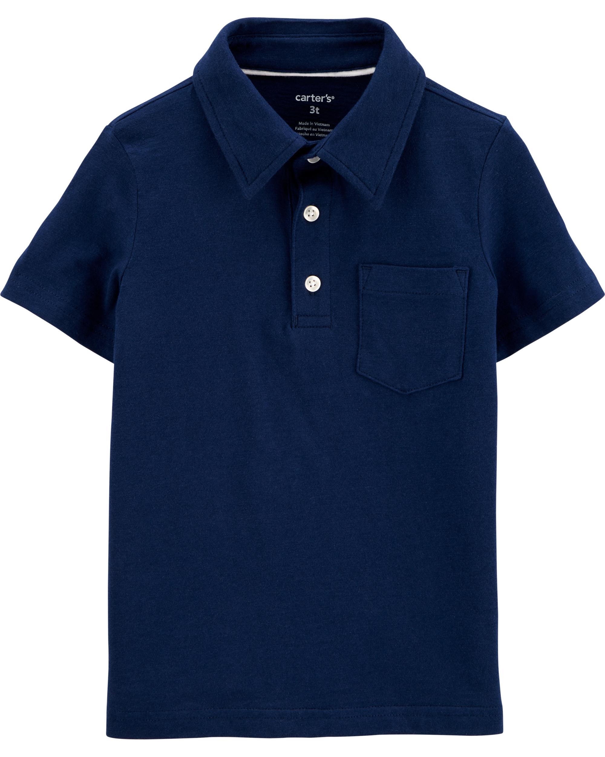 חולצת פולו  נייבי