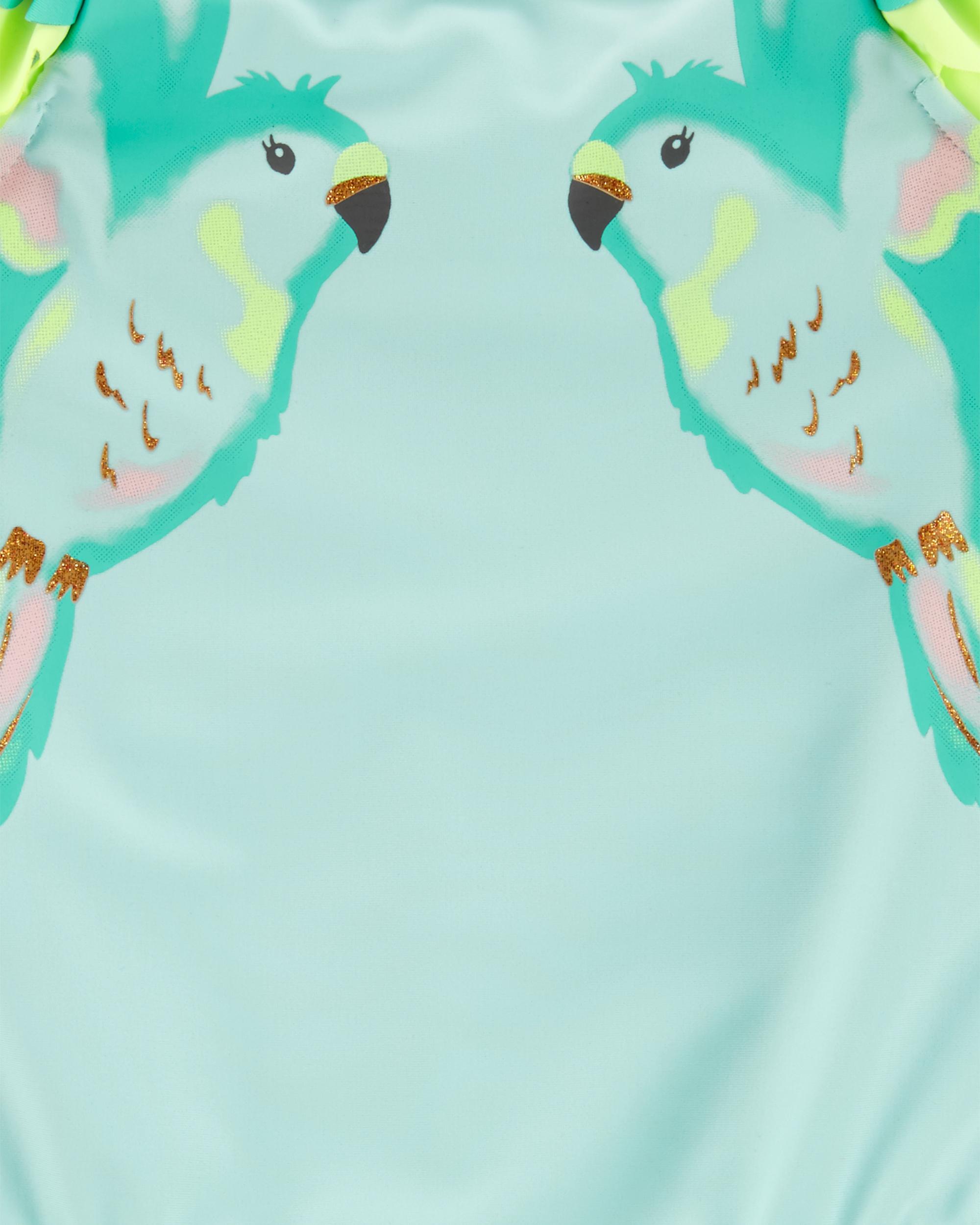 בגד ים שלם ציפורים