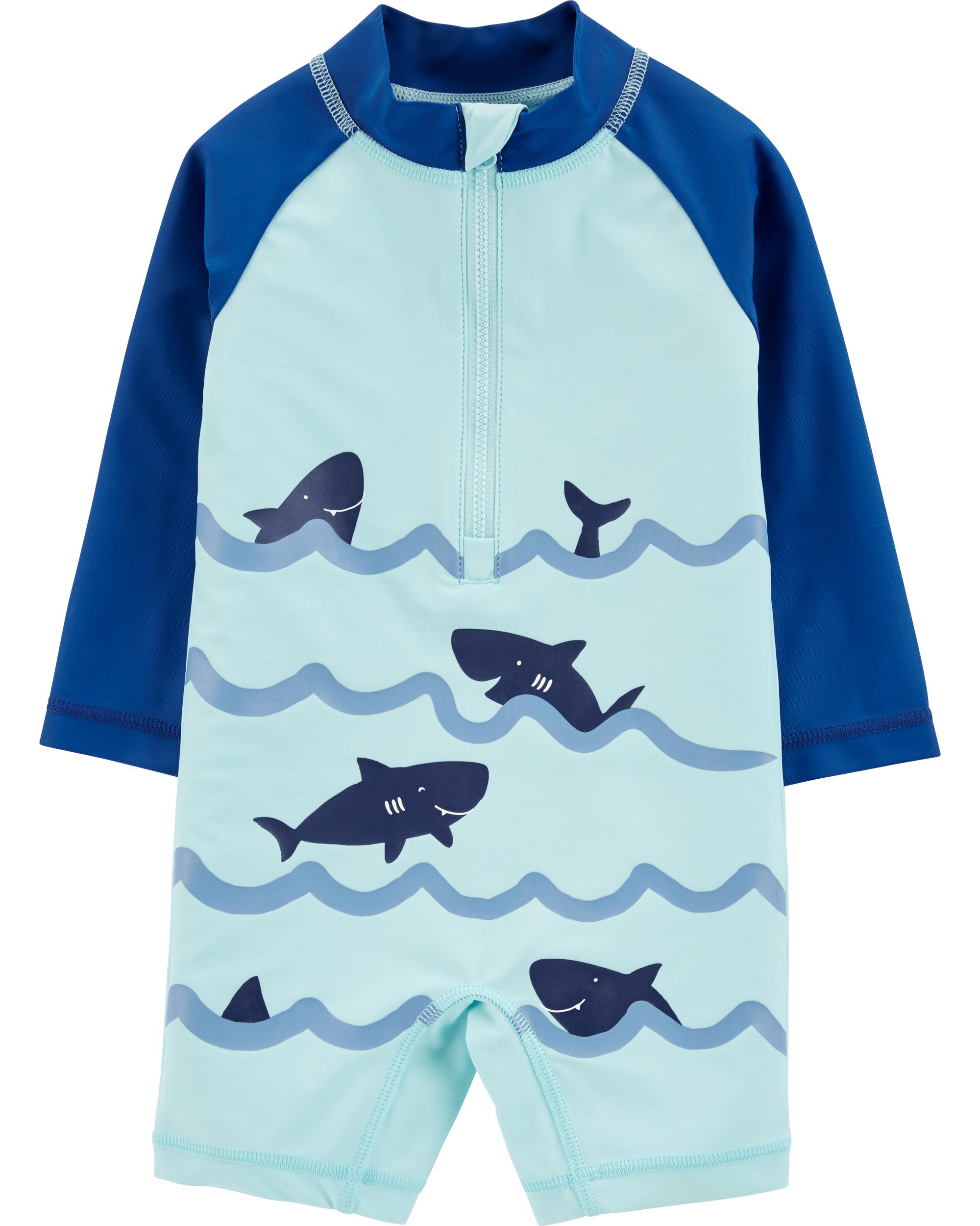 בגד ים אוברול כרישים