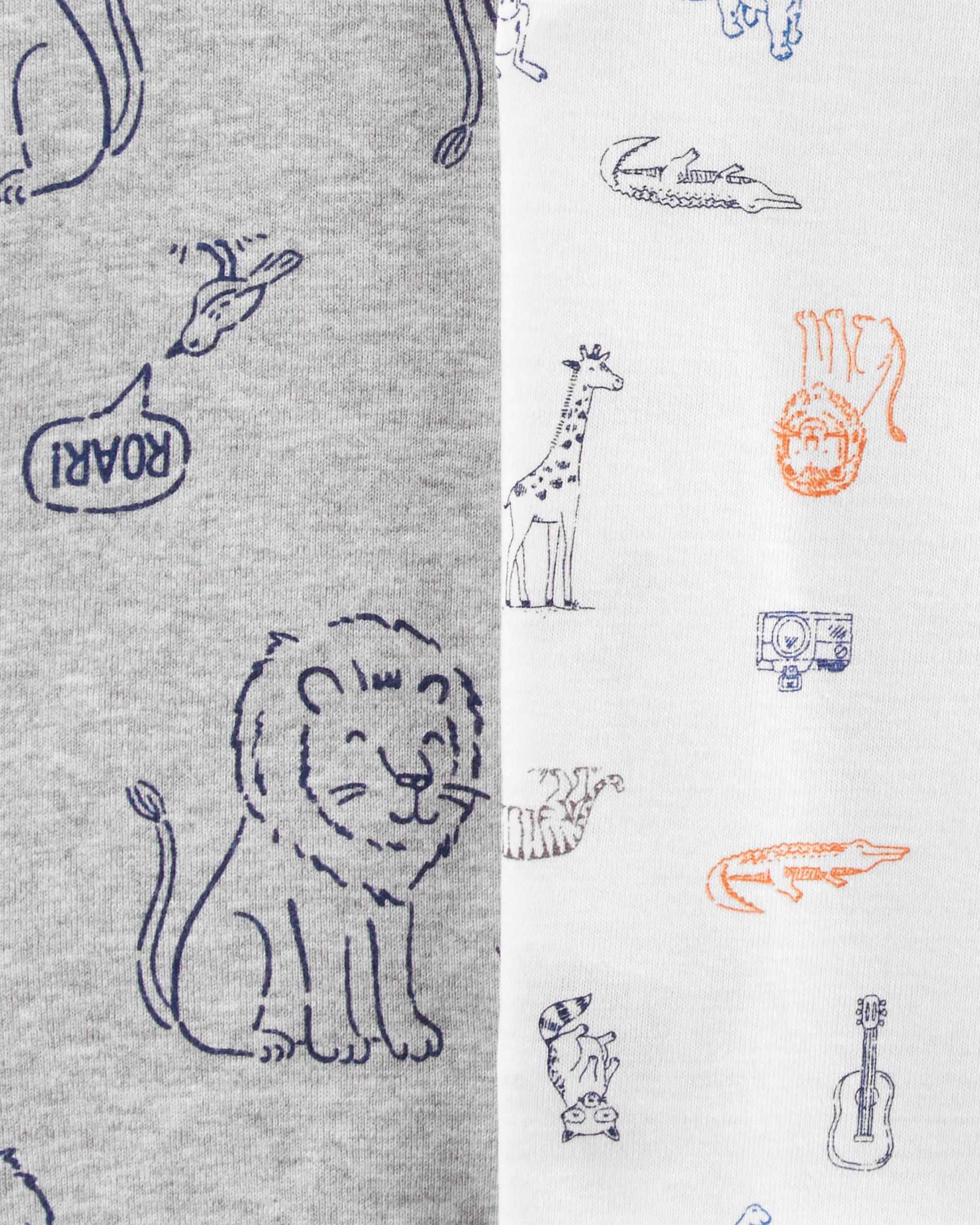 שלישיית בגדי גוף מעטפת אריות