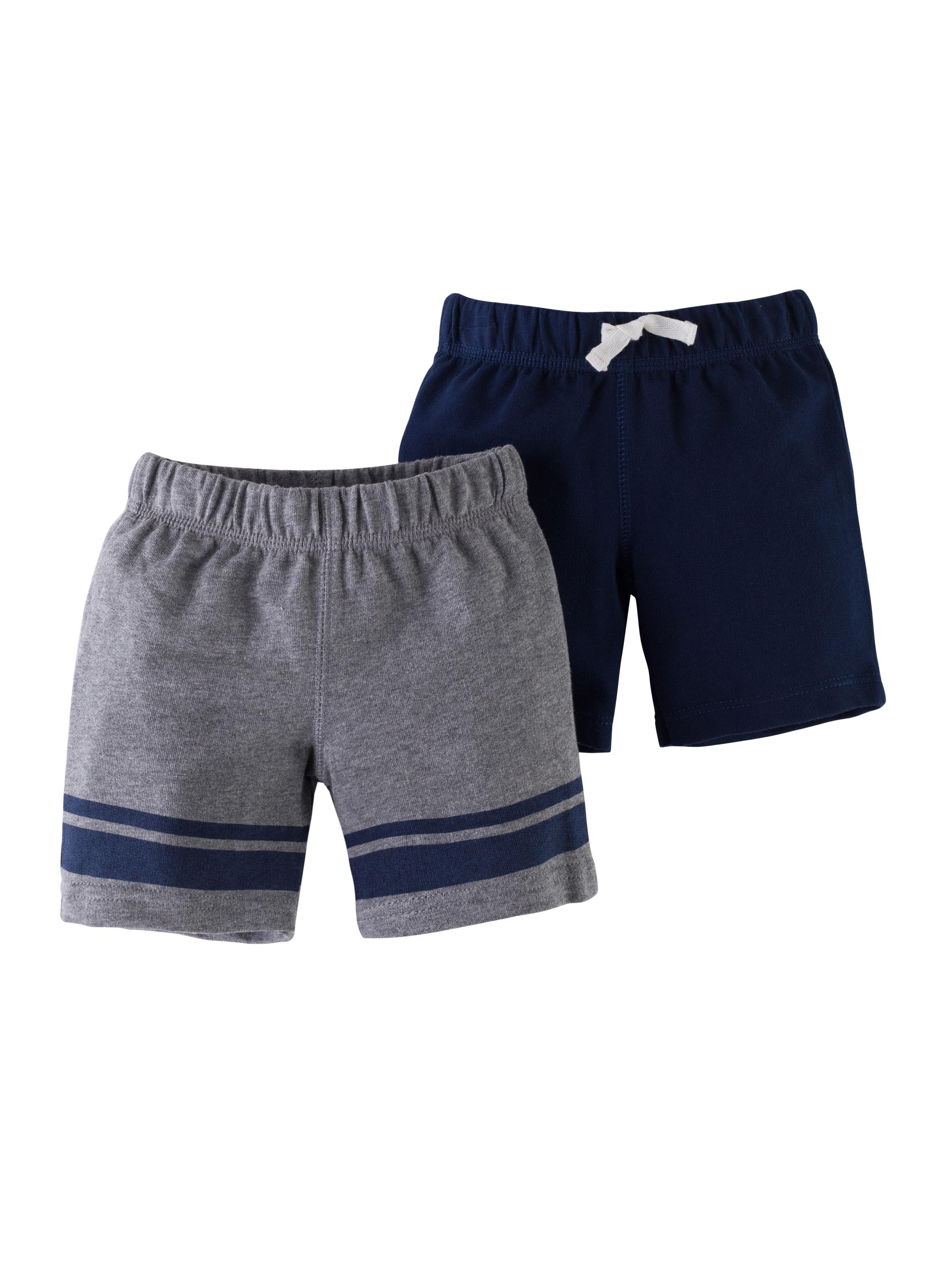 זוג מכנסיים מלאנג'/נייבי