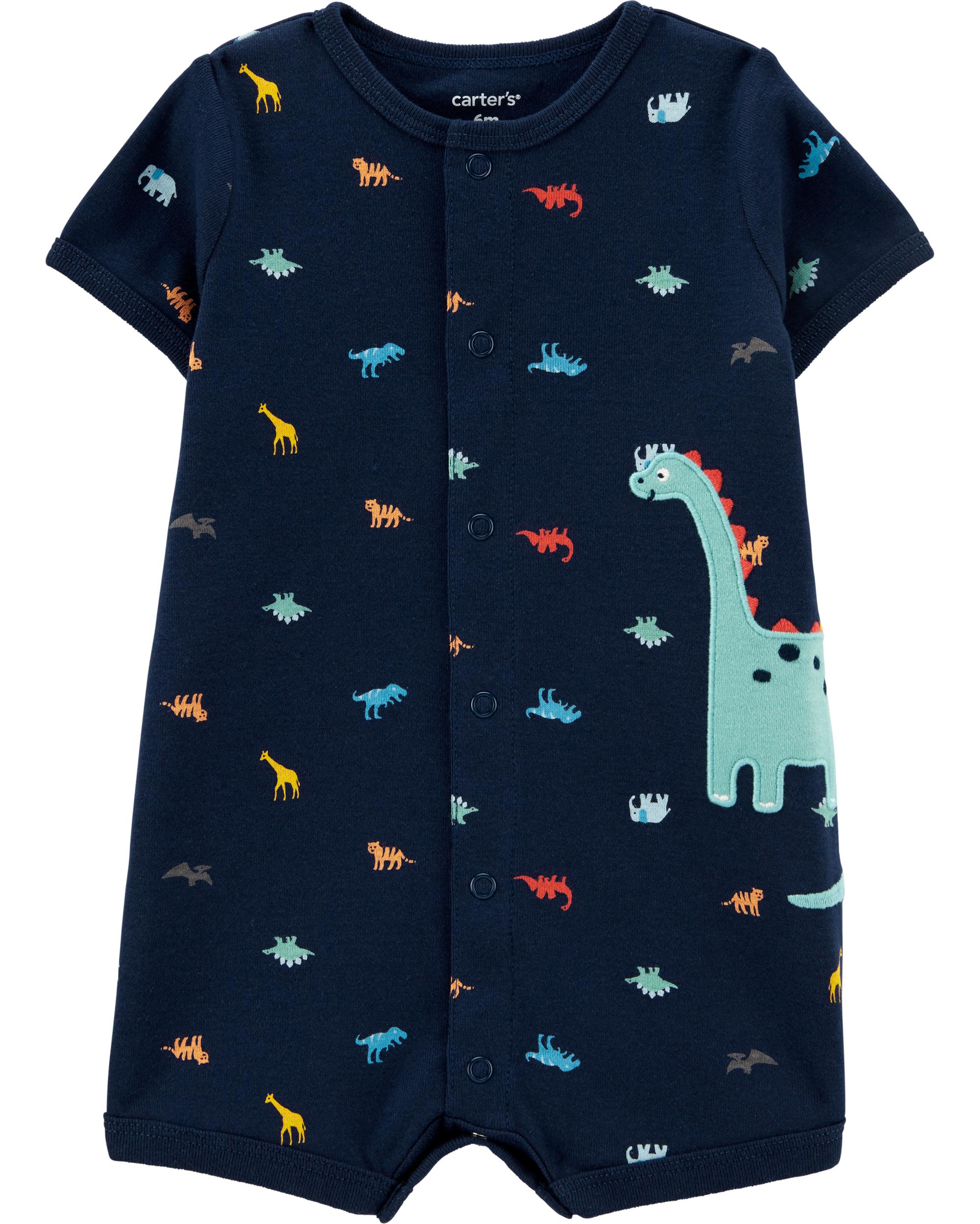 אוברול קצר דינוזאור