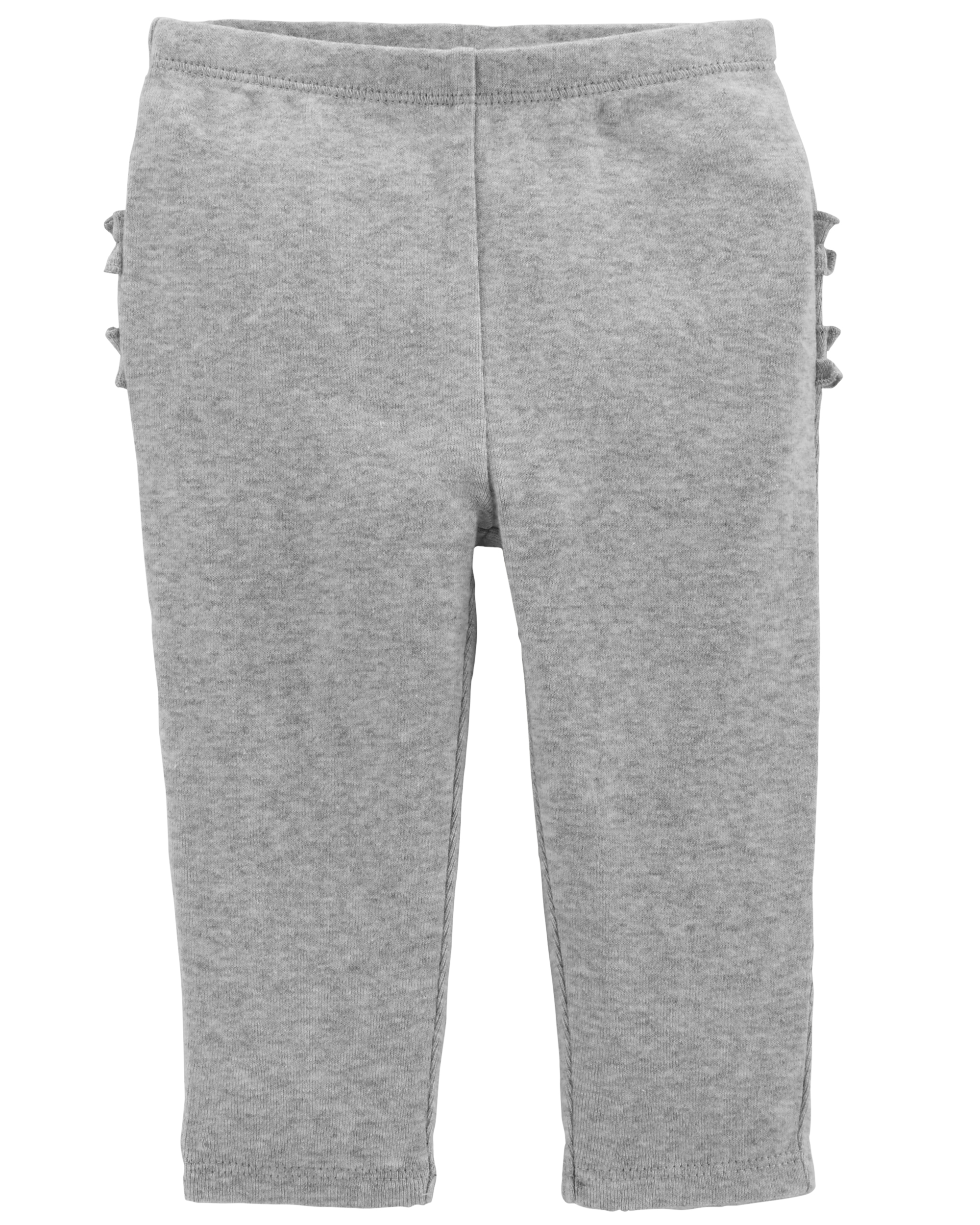 זוג מכנסיים אפור/ורוד