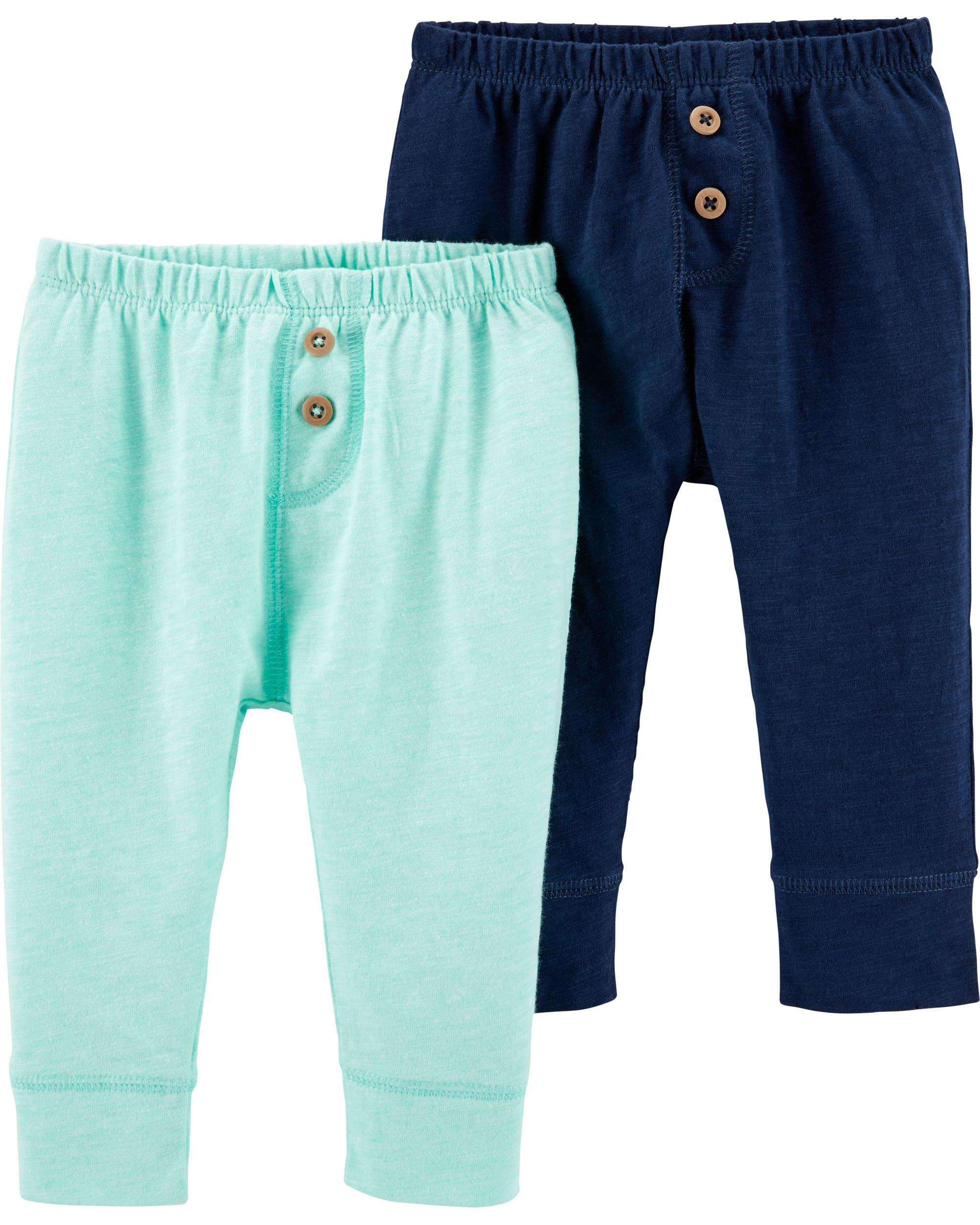 זוג מכנסיים תכלת/כחול