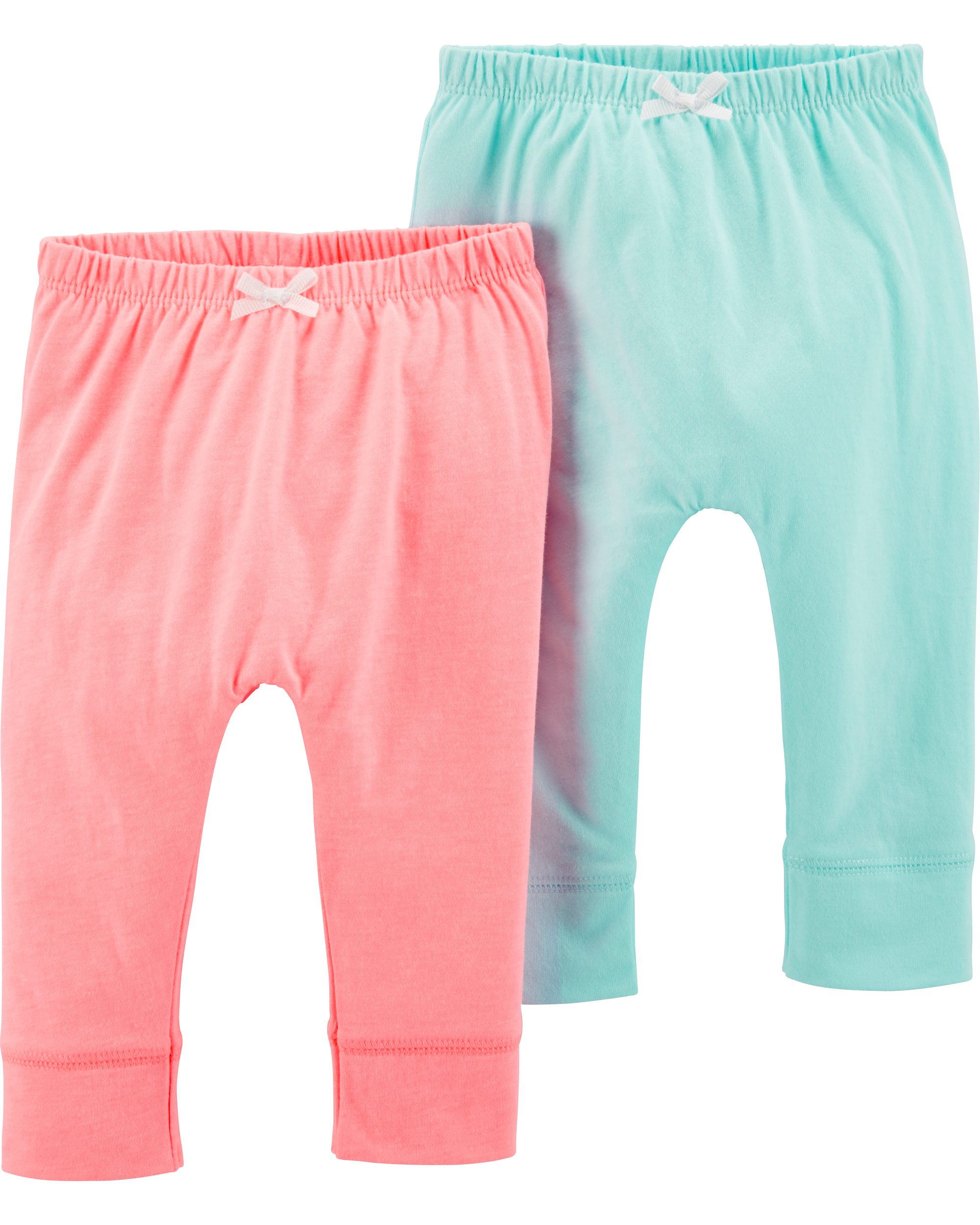 זוג מכנסיים ורוד/תכלת