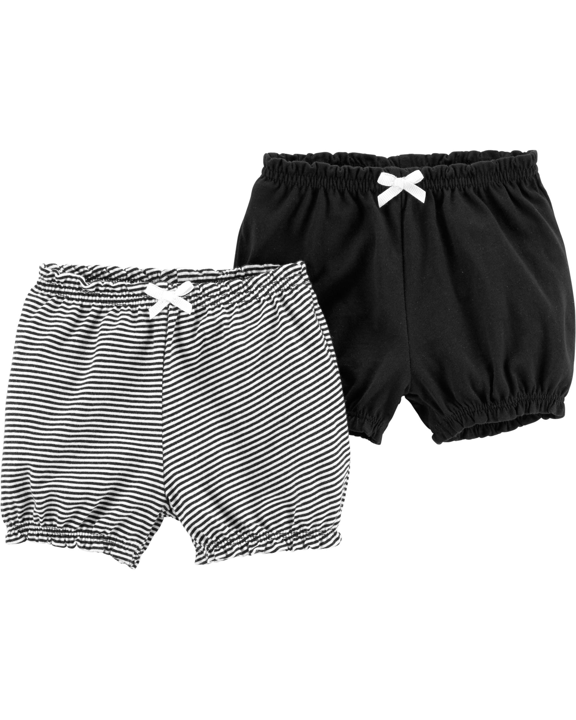 זוג מכנסיים קצרים שחור