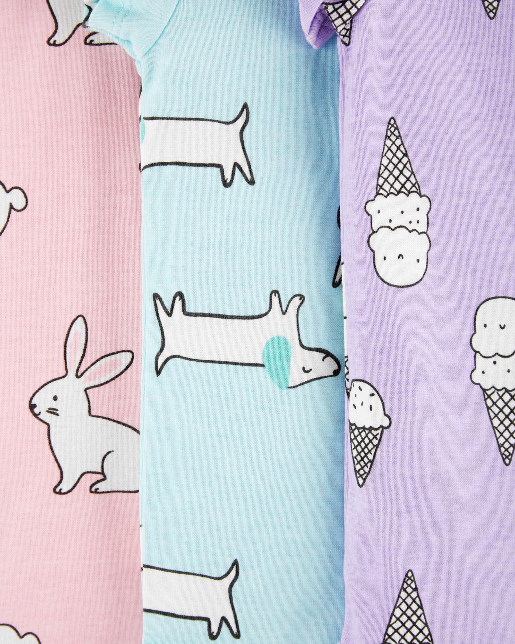 חמישיית בגדי גוף ארנבות