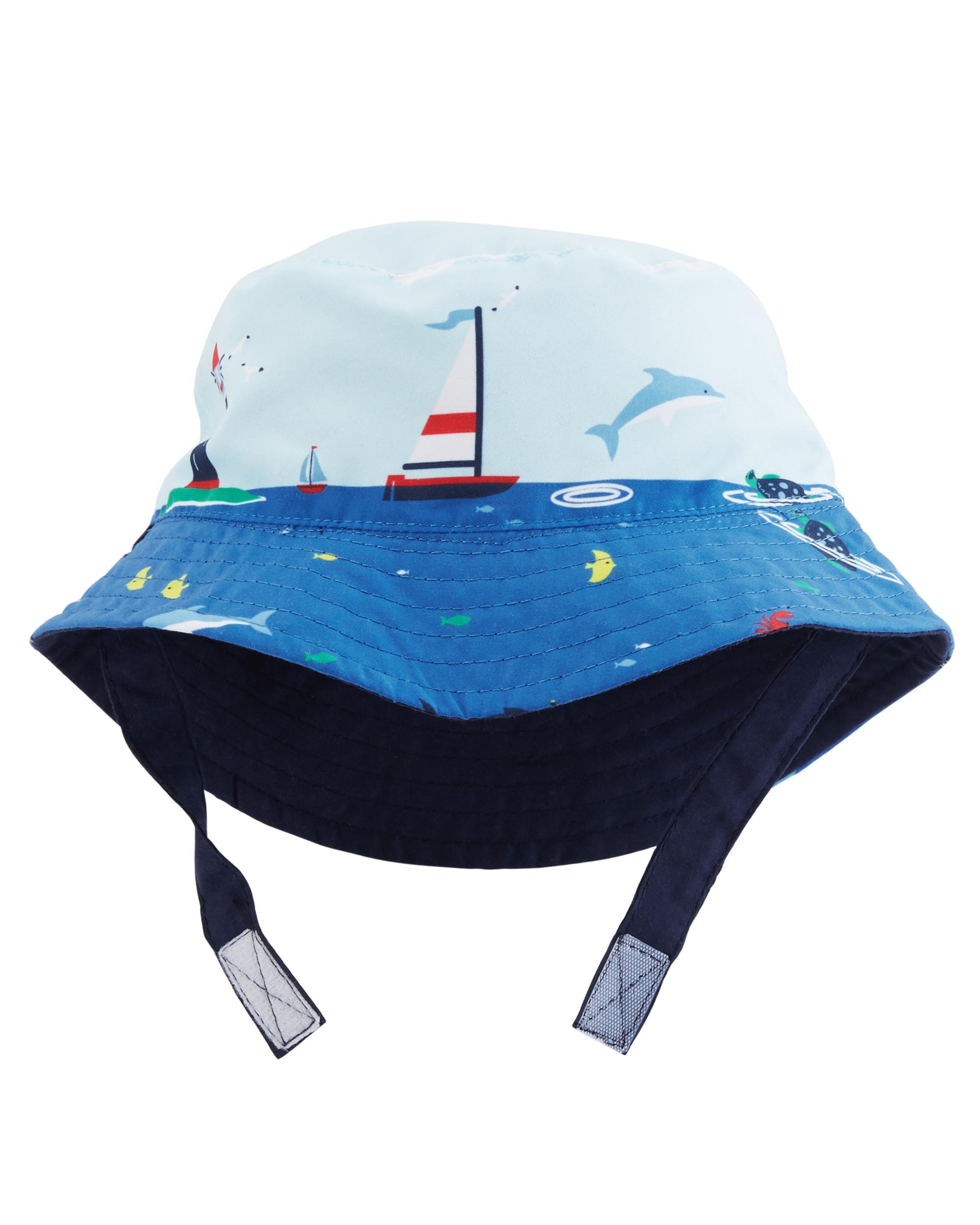 כובע דו צדדי נייבי/ים