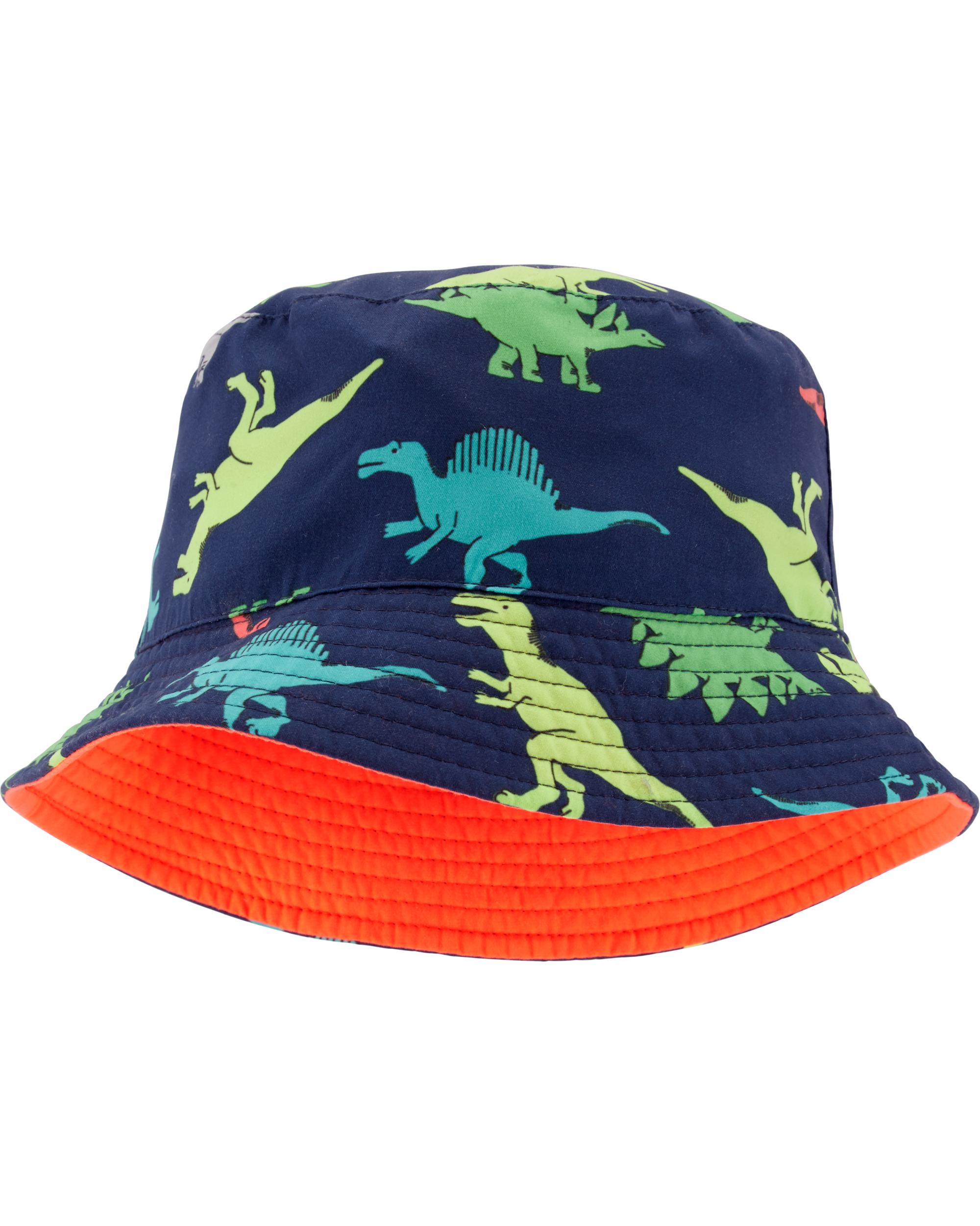 כובע דו צדדי דינוזאורים