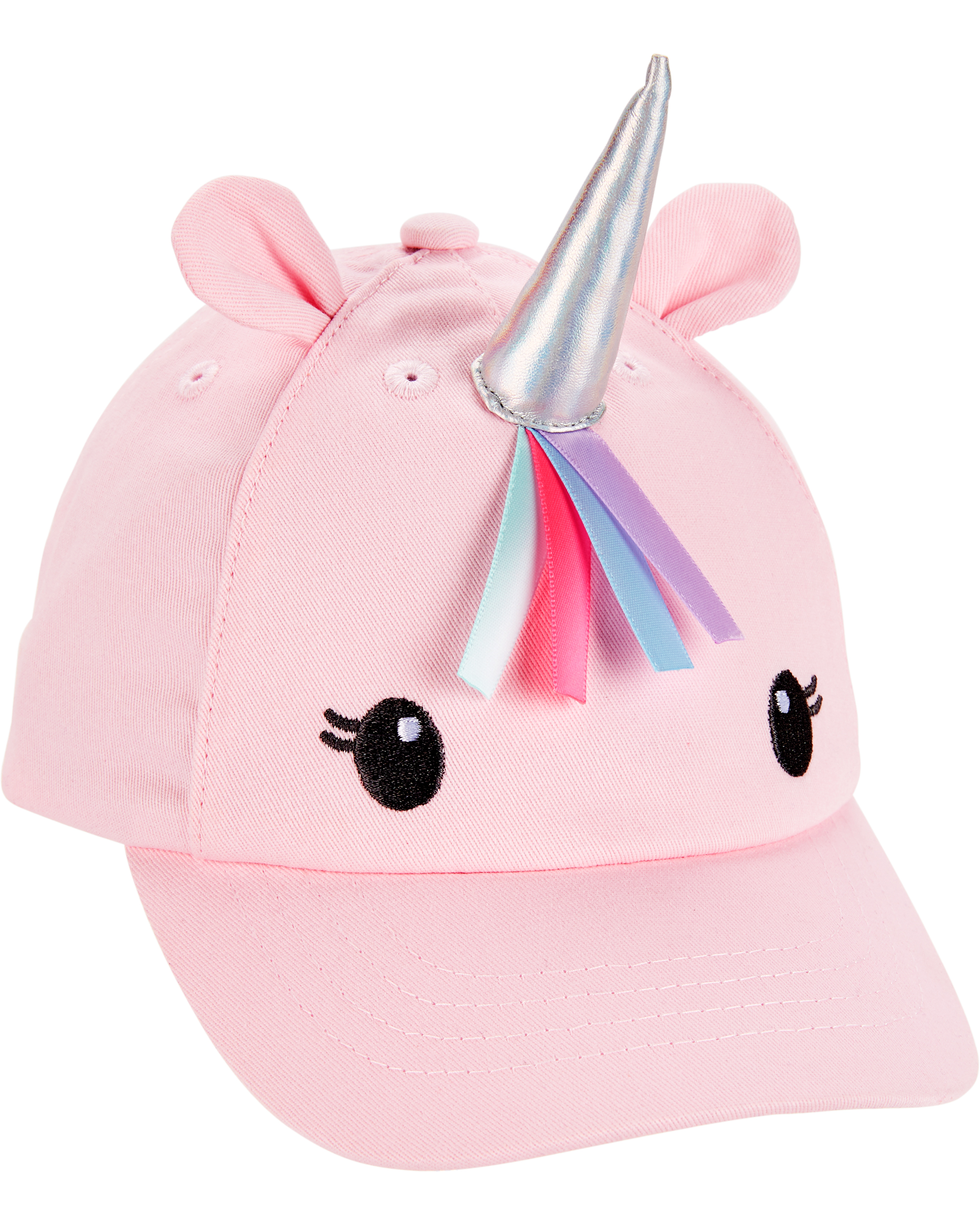 כובע מצחייה חד קרן תלת מימד