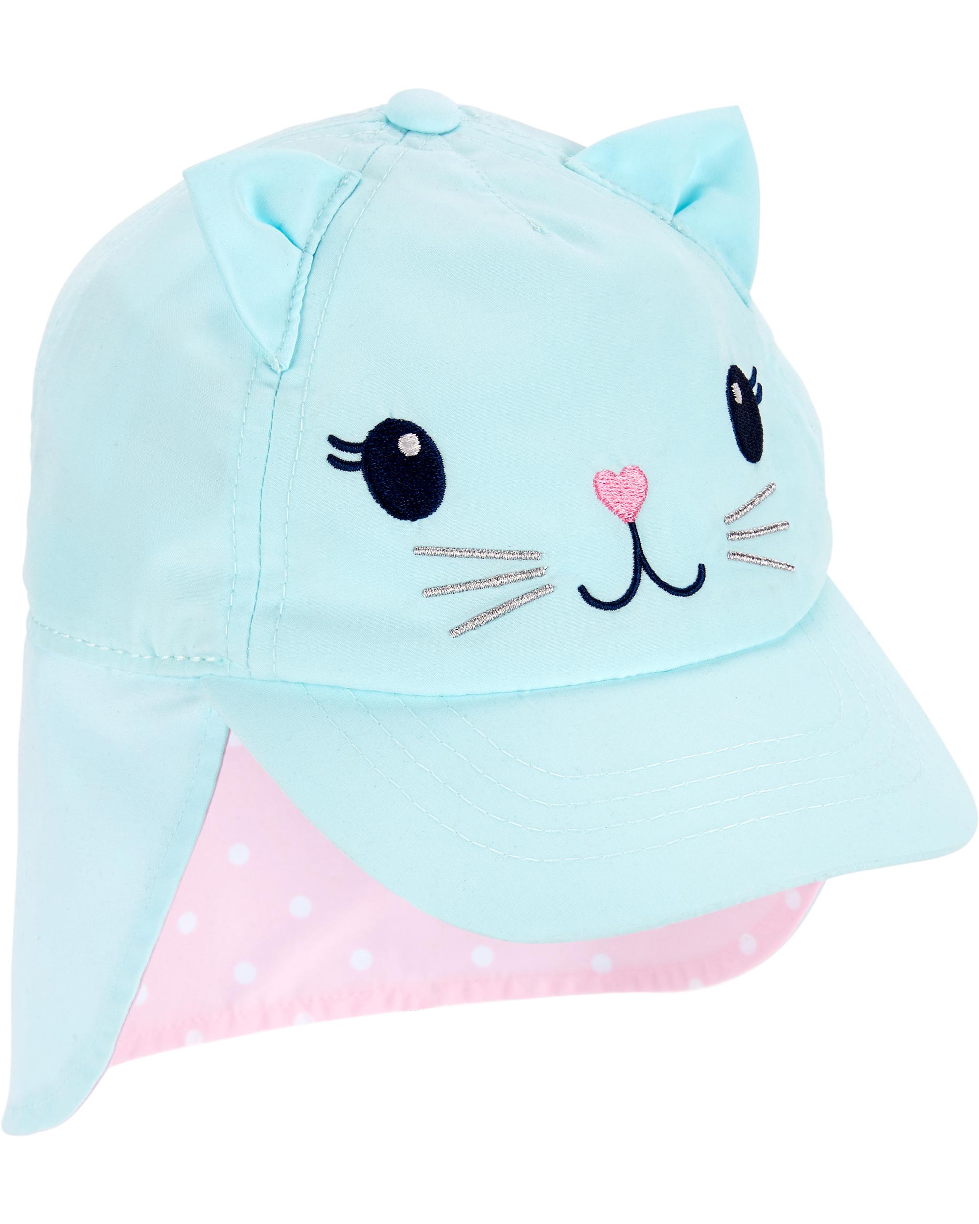 כובע מצחיה וכיסוי עורף חתולה