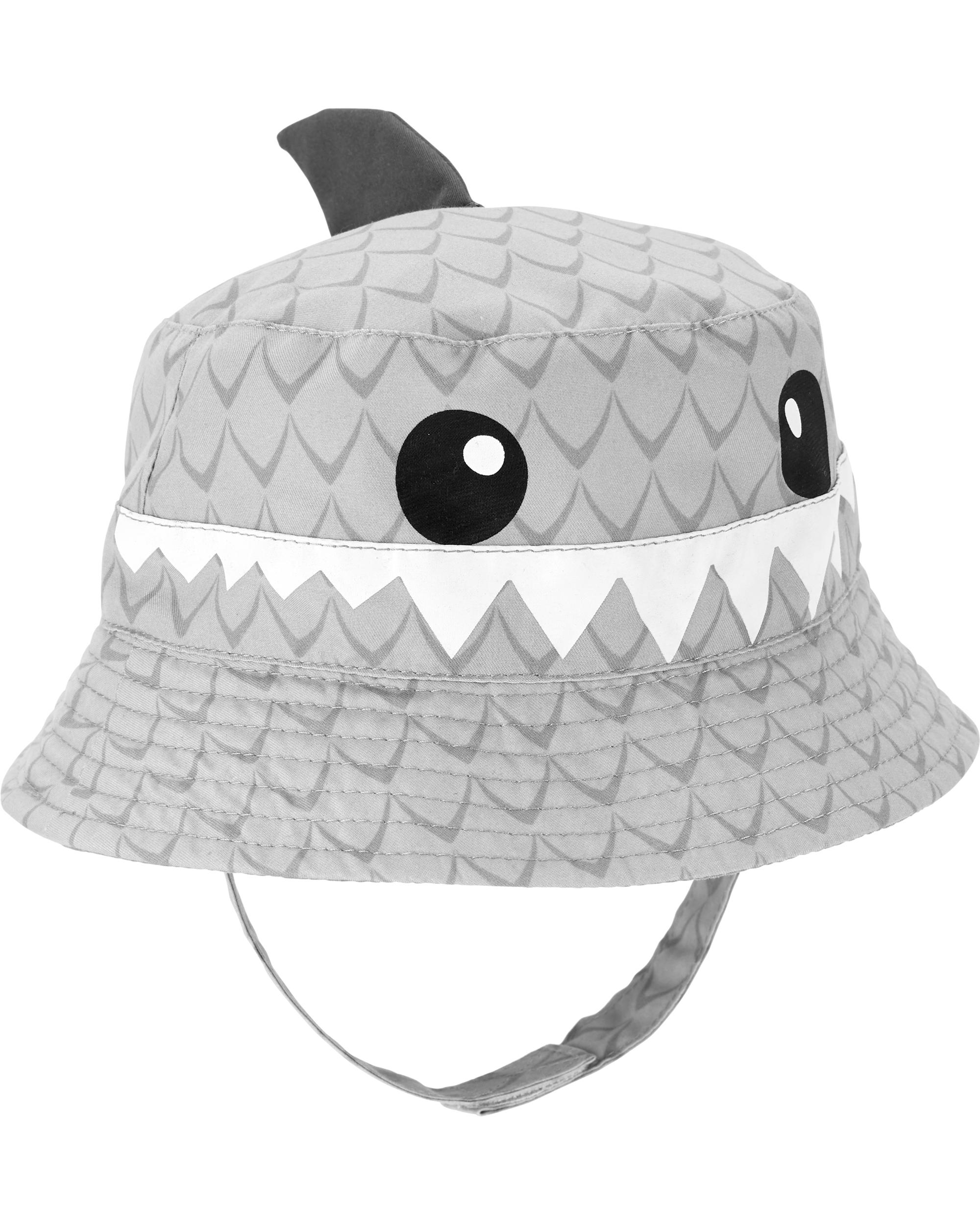 כובע שוליים כריש תלת מימד