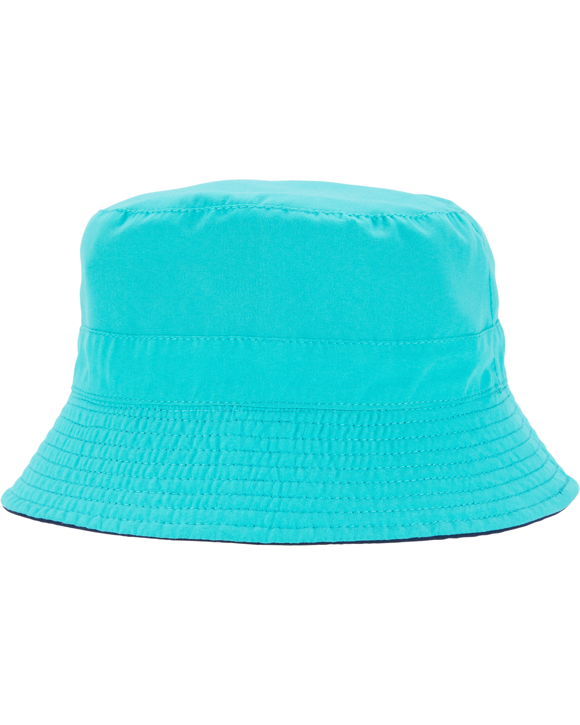 כובע  דו צדדי נייבי טורקיז