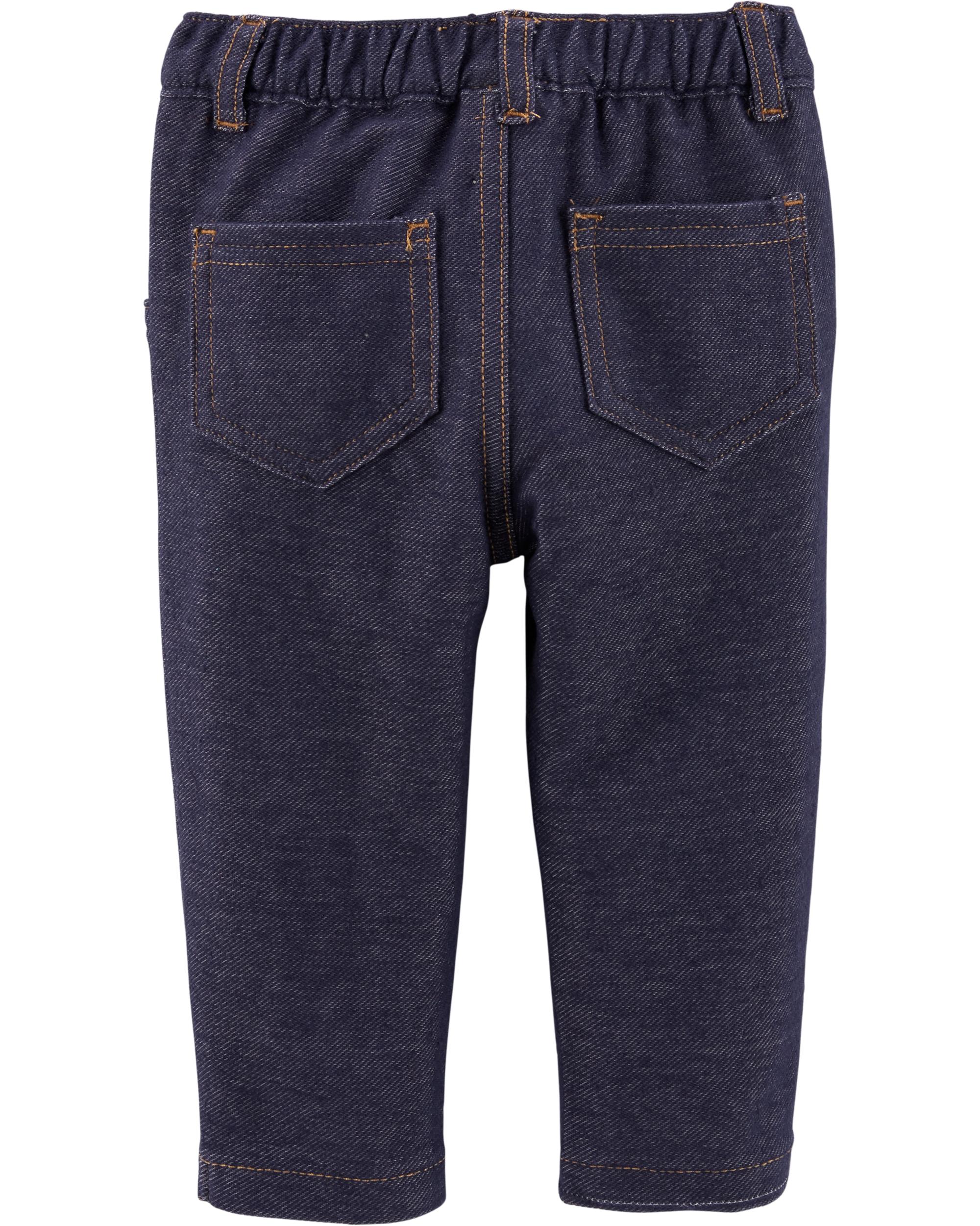 מכנס דמוי ג'ינס