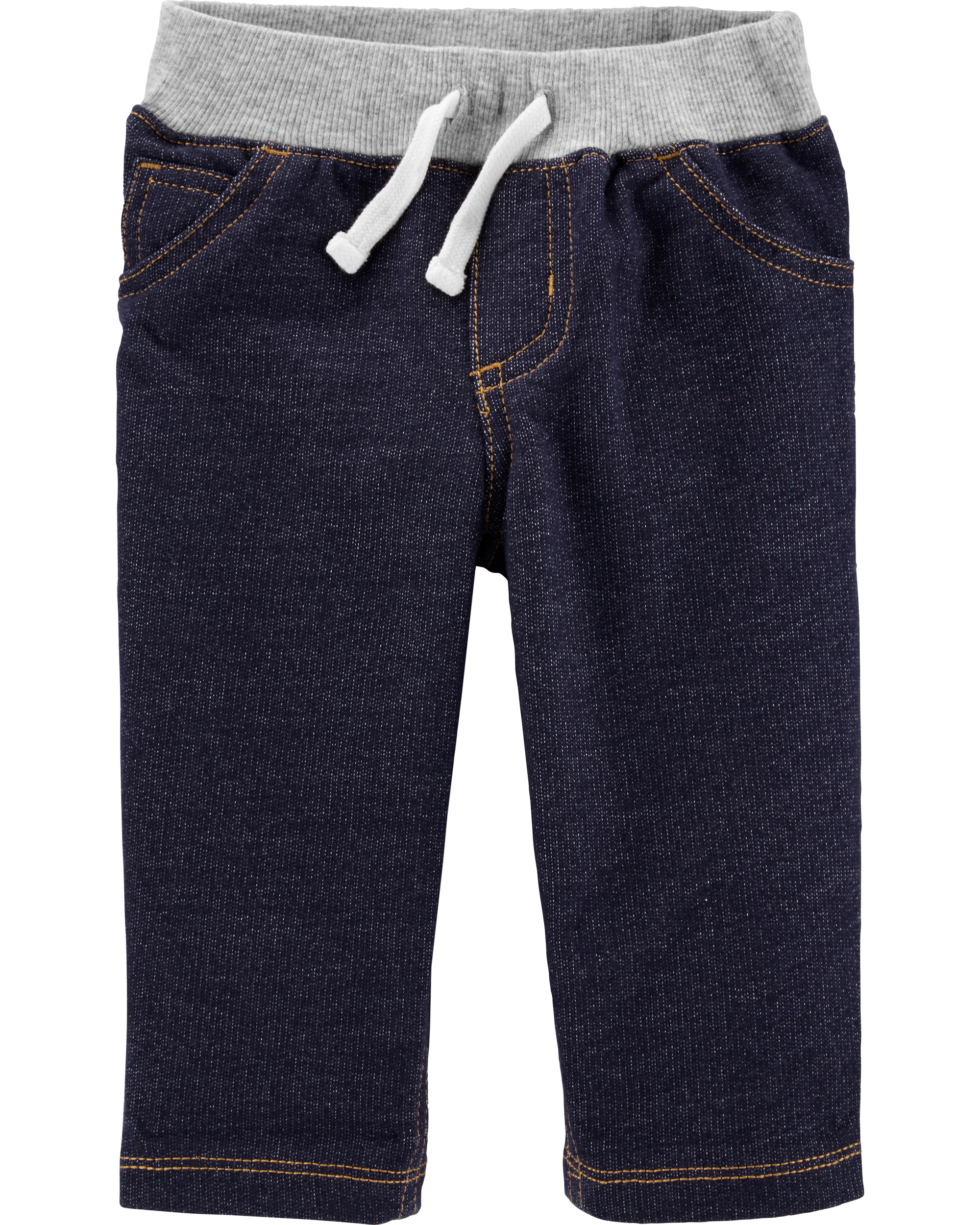 מכנס ג'ינס סריג