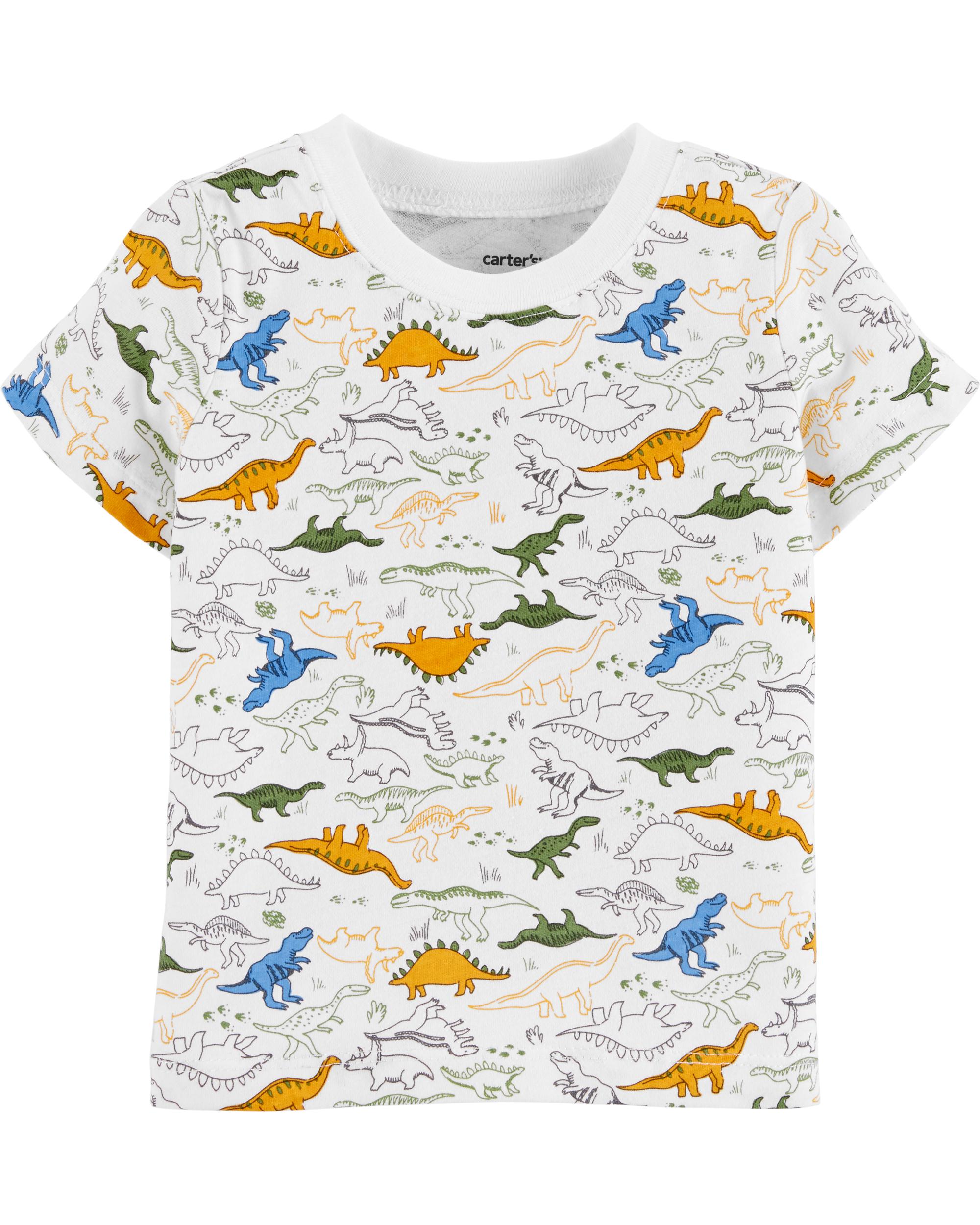 סט אוברול וחולצה דינוזאורים
