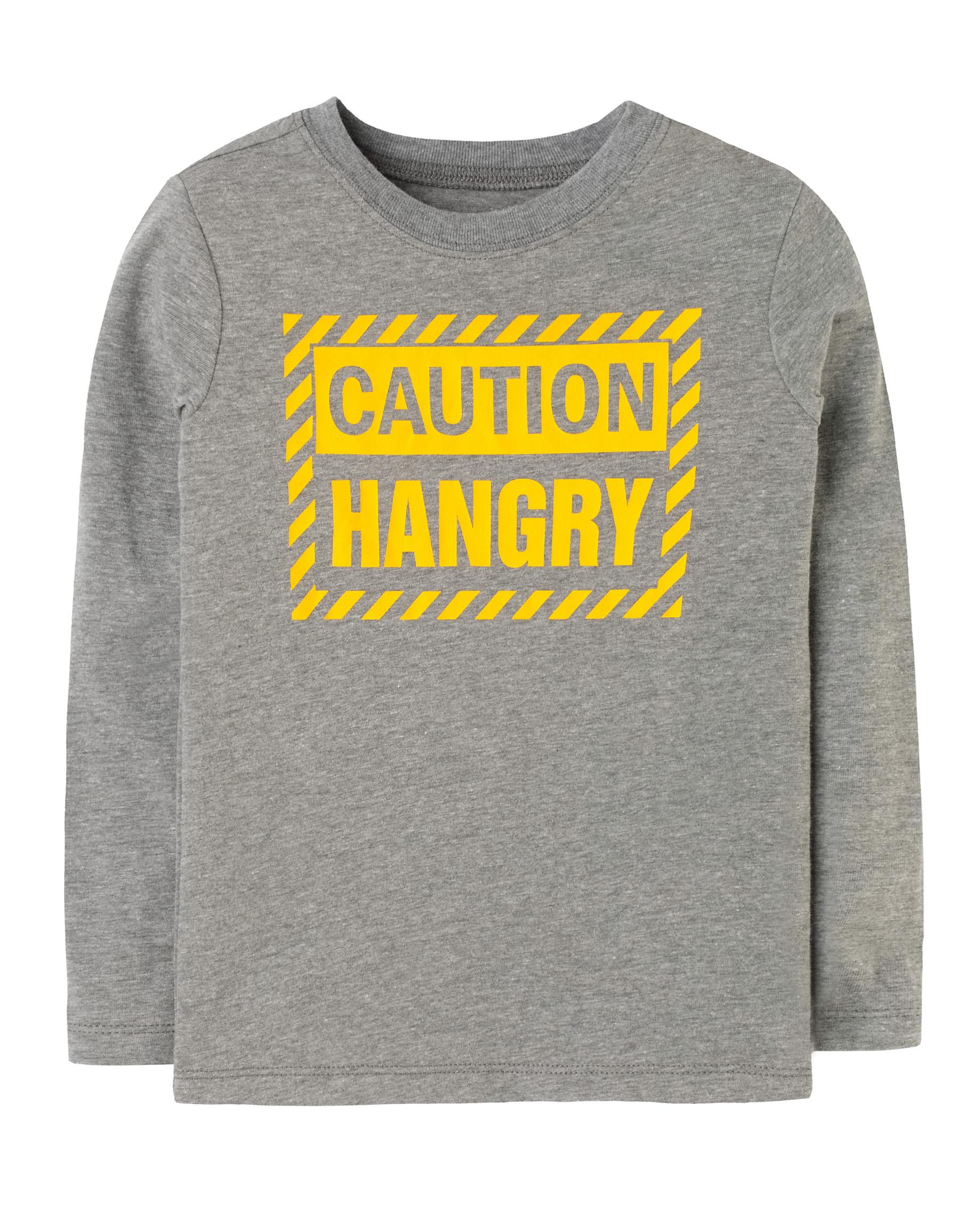 CAUTION HANGRY חולצת