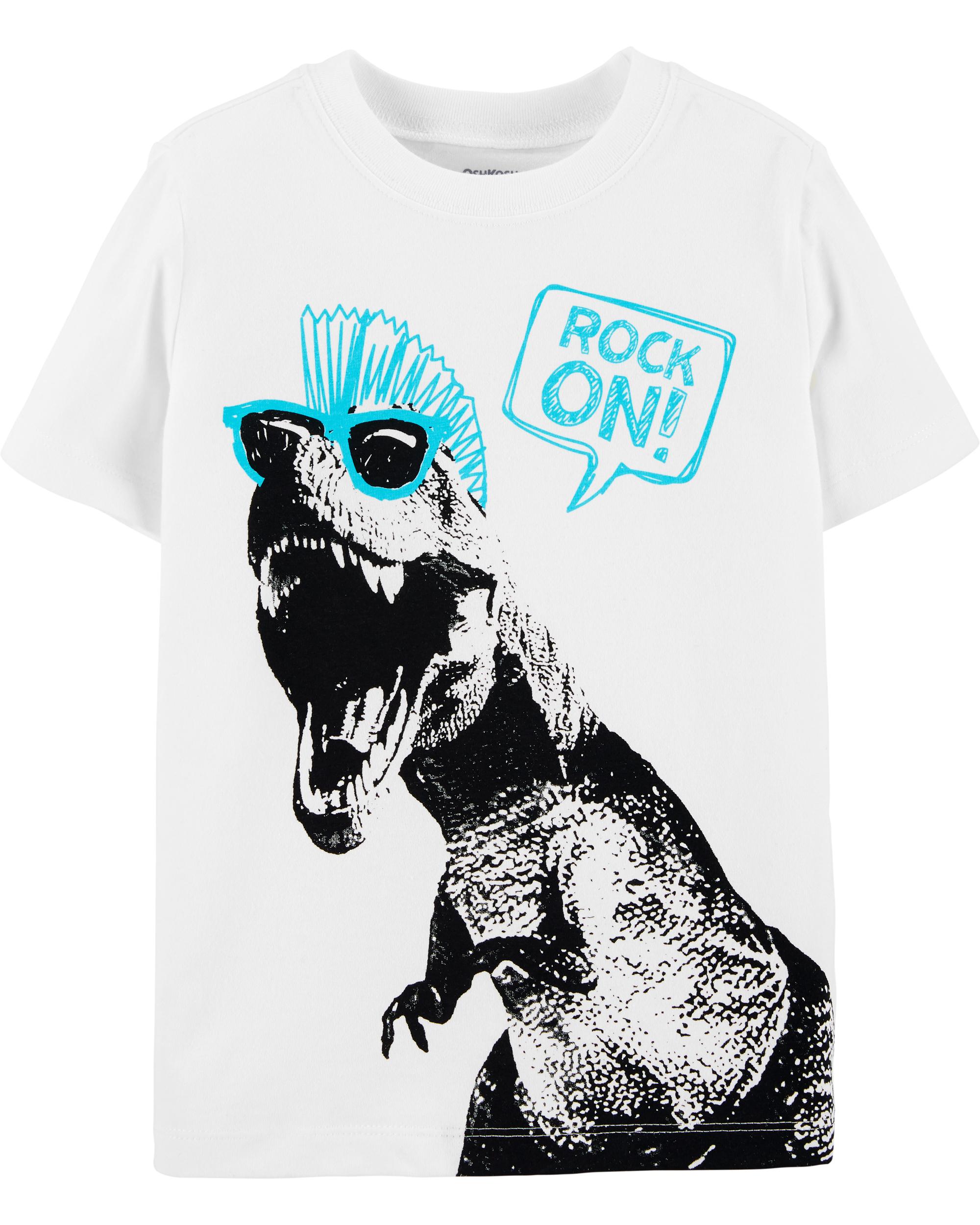 חולצת טי דינוזאור פאנק