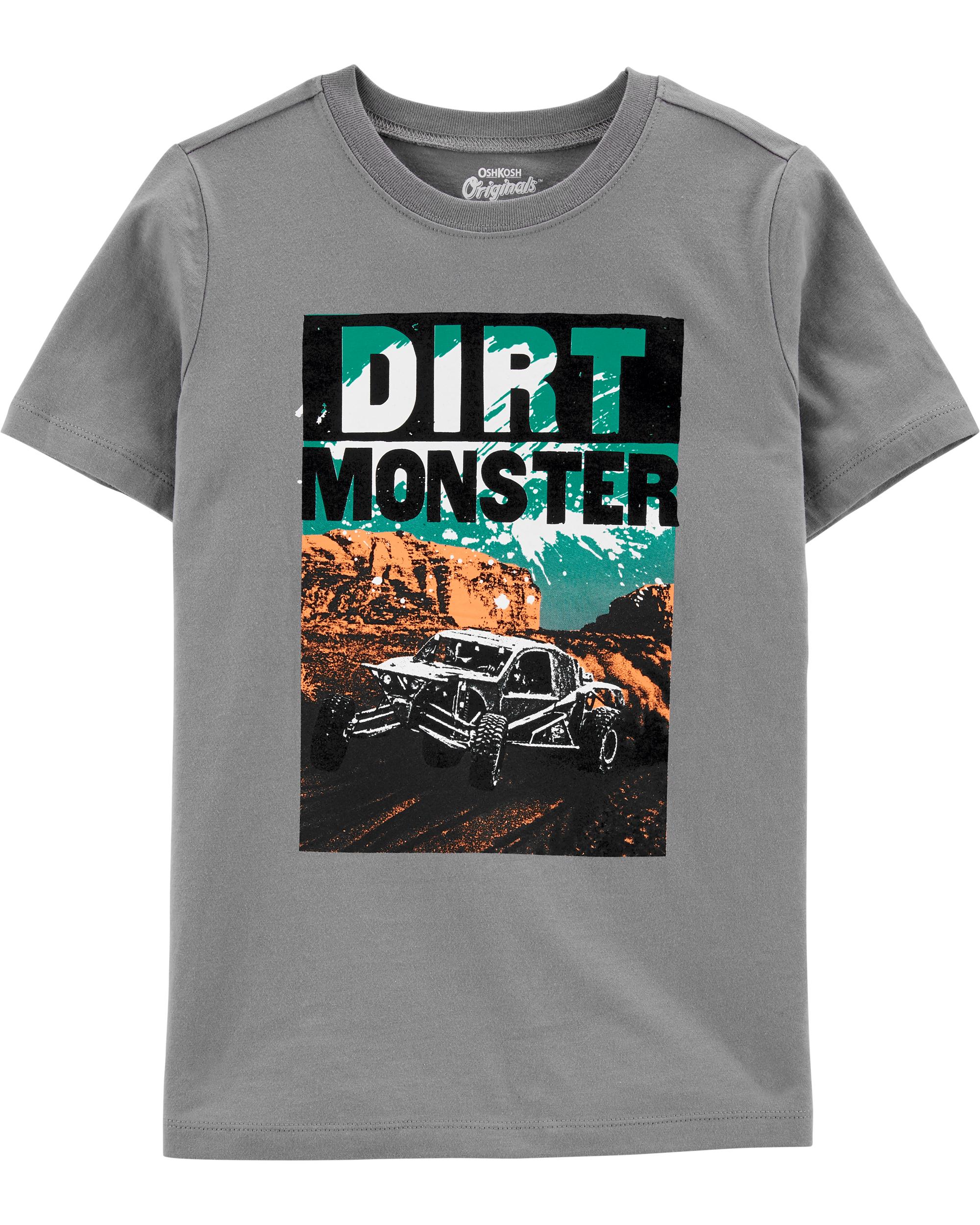 DIRT MONSTER חולצת טי