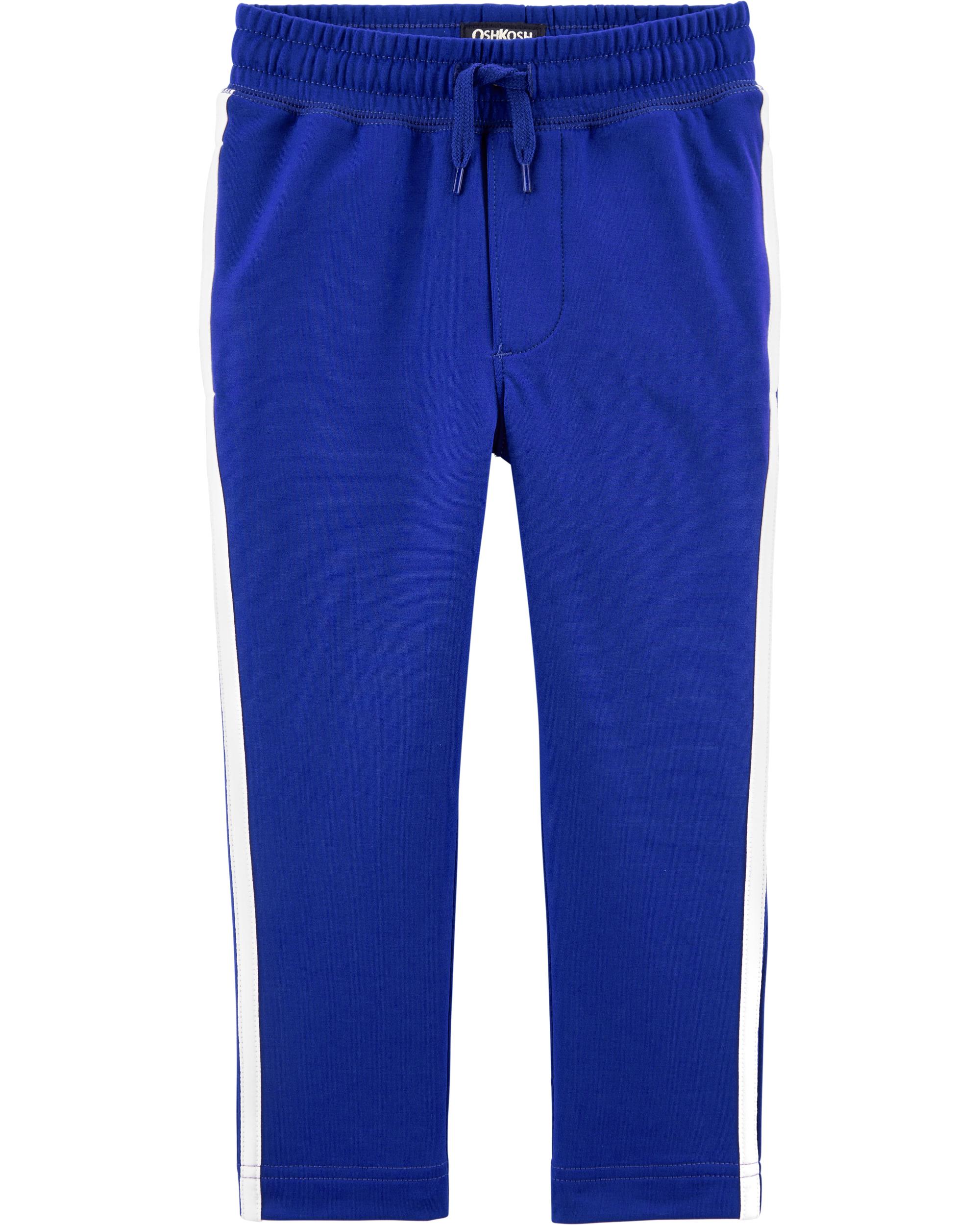 מכנס פסי צד כחול