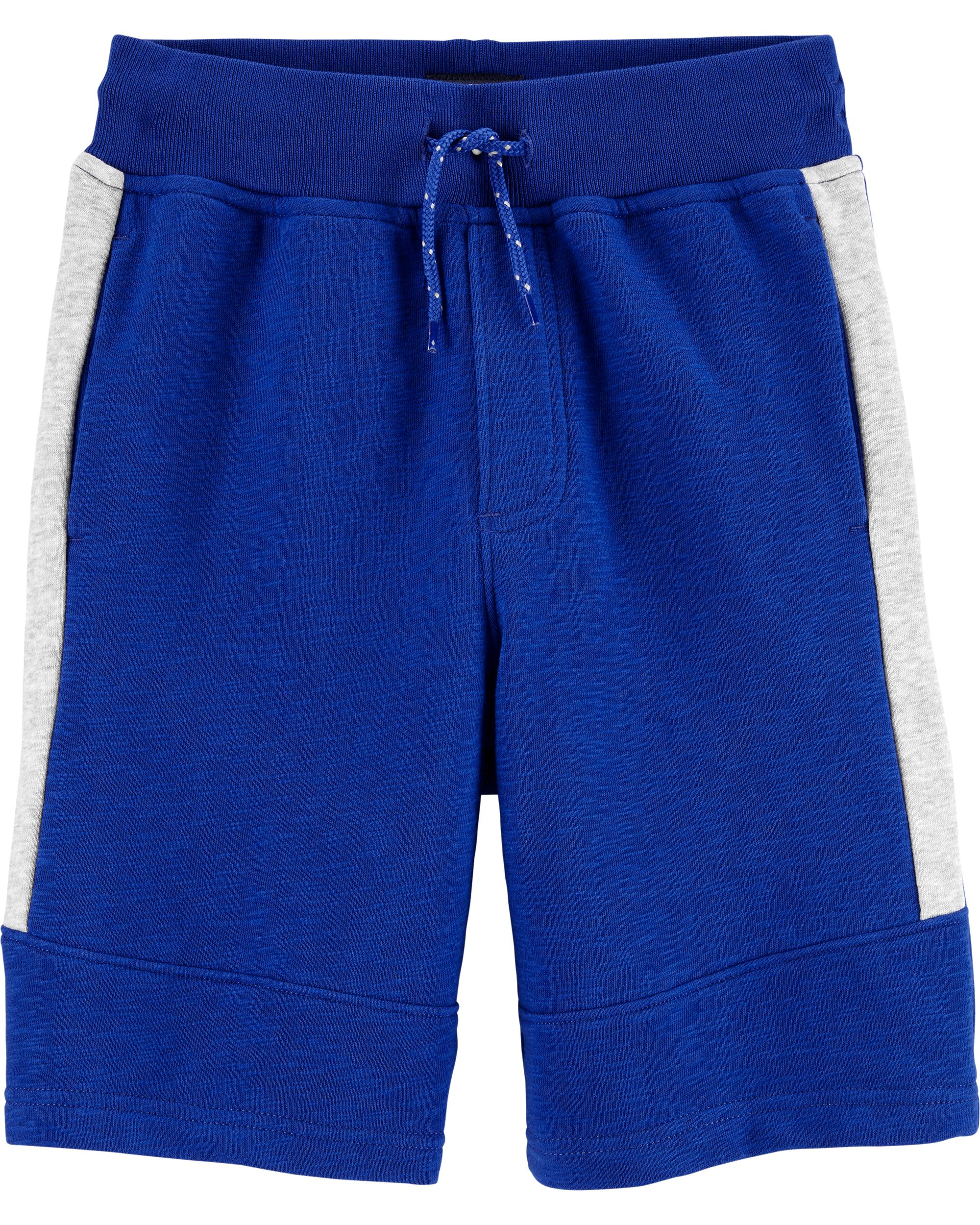 מכנס ספורט כחול פס צד