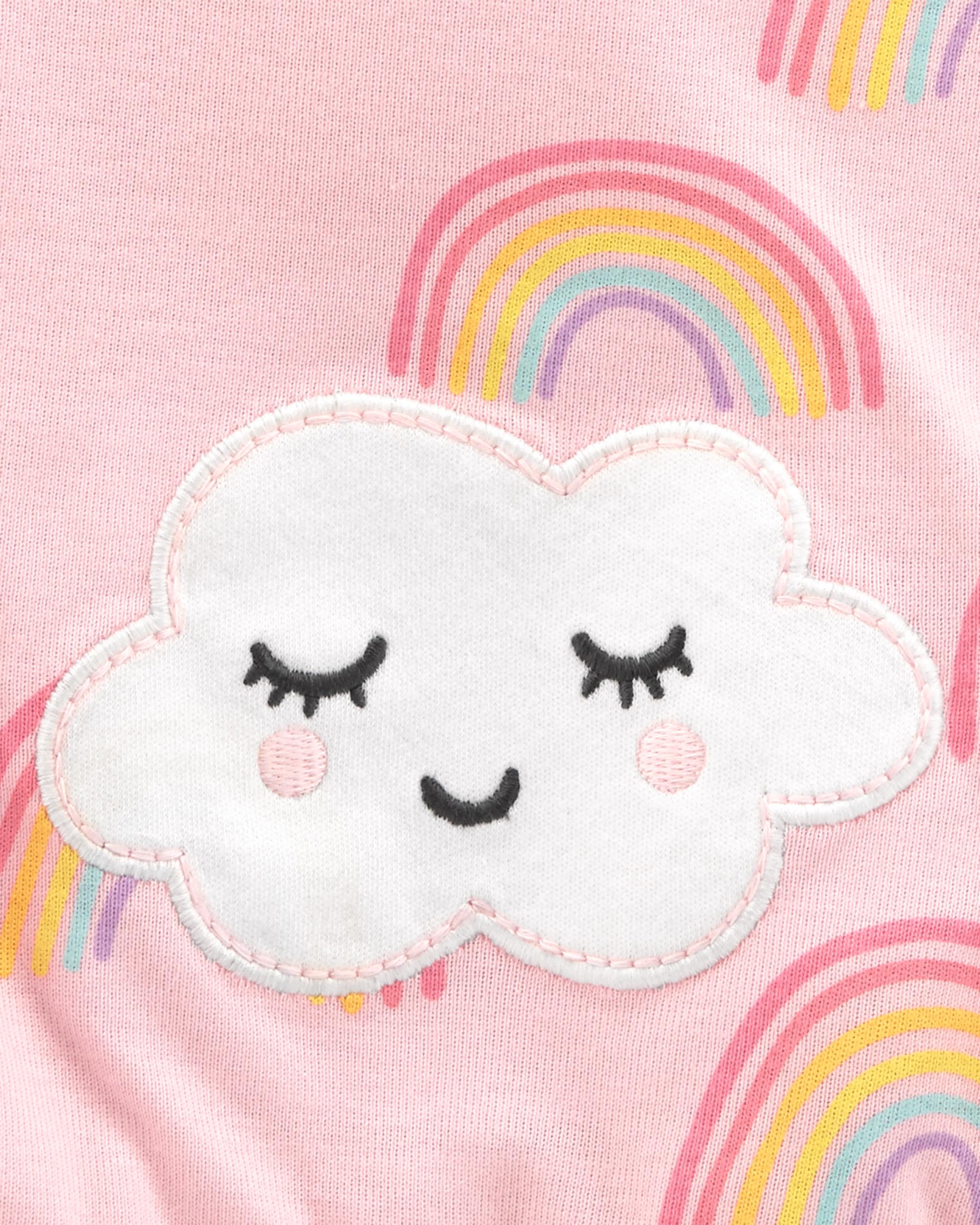 אוברול קצר קשת בענן