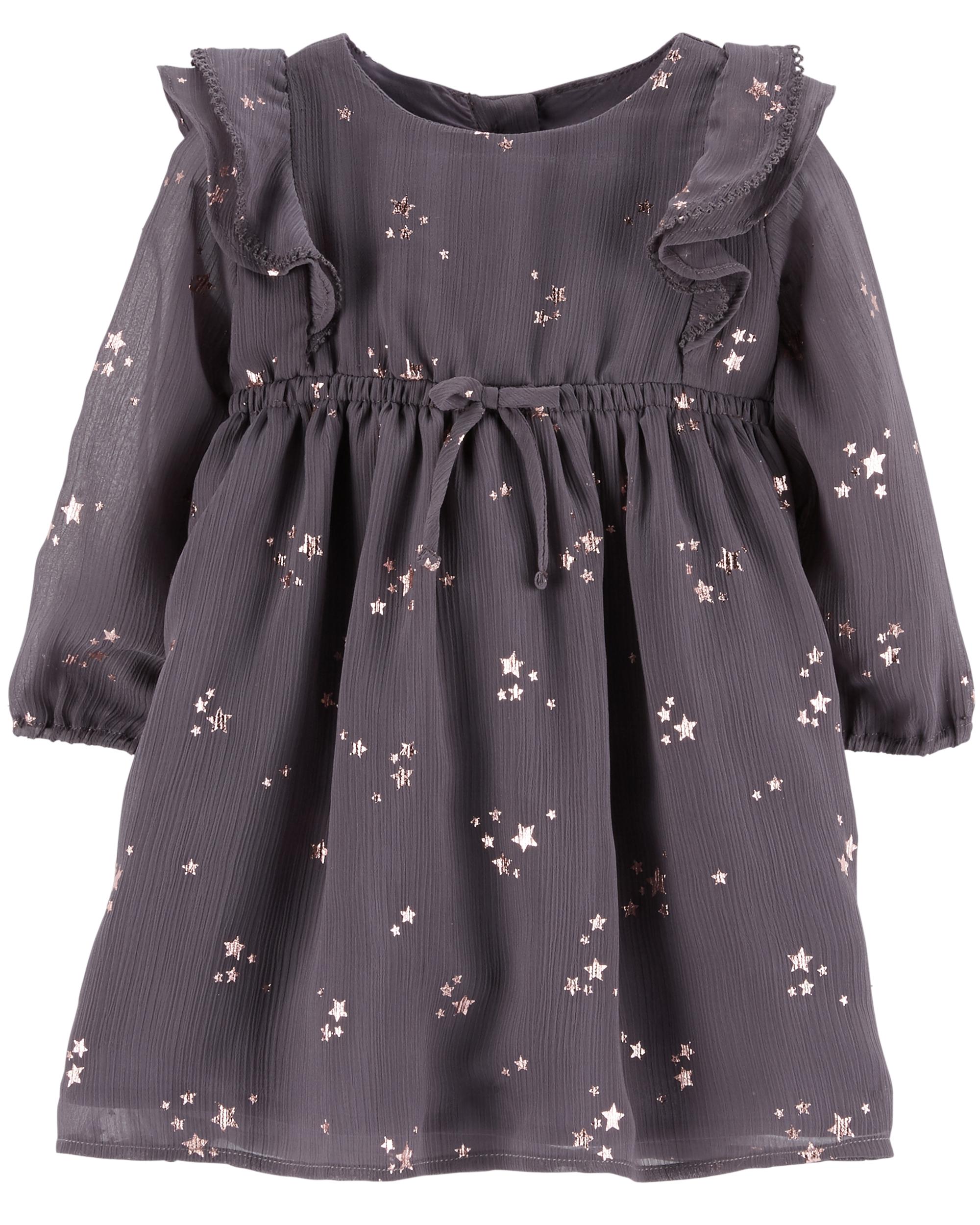 שמלת שיפון כוכבים