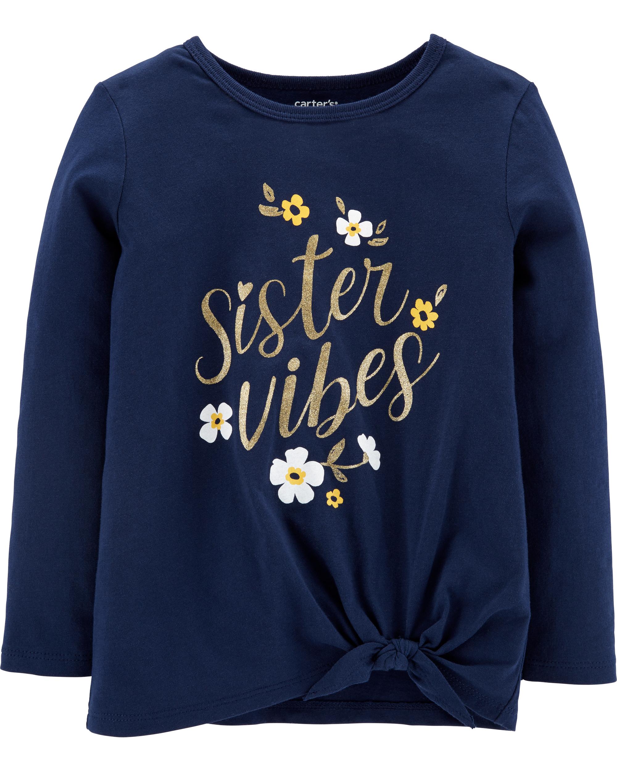 SISTER VIBES חולצת