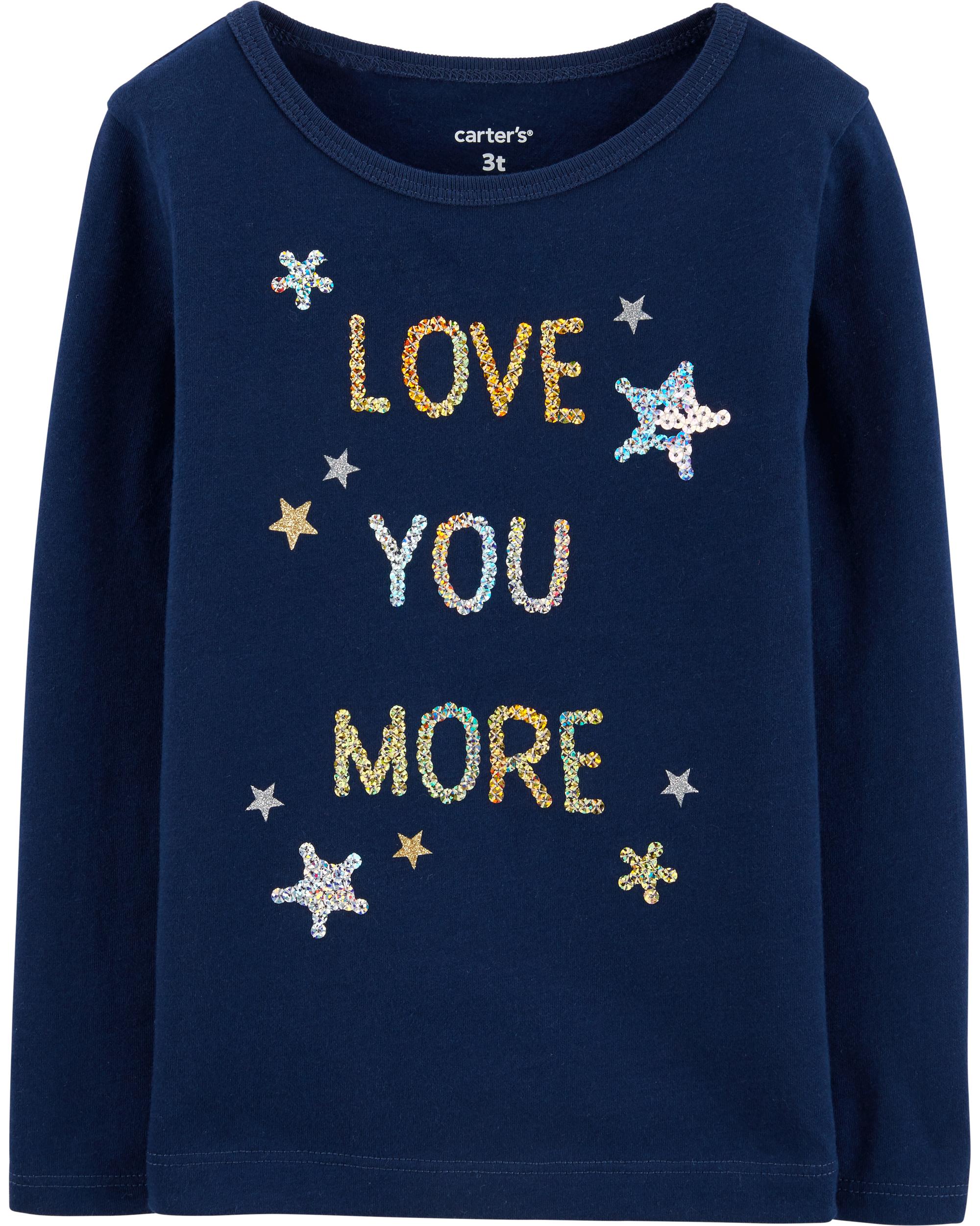 LOVE YOU MORE חולצת