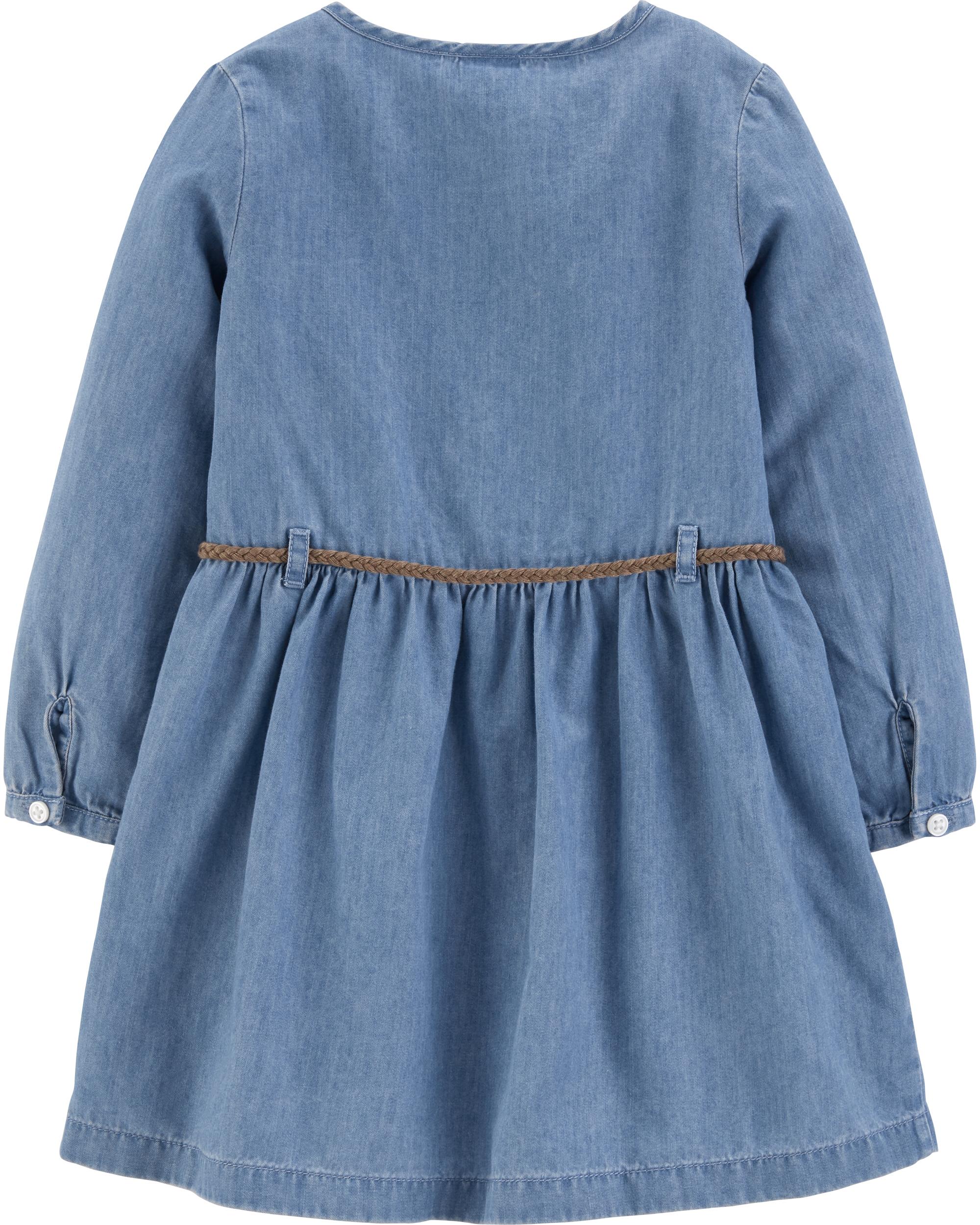שמלת ג'ינס