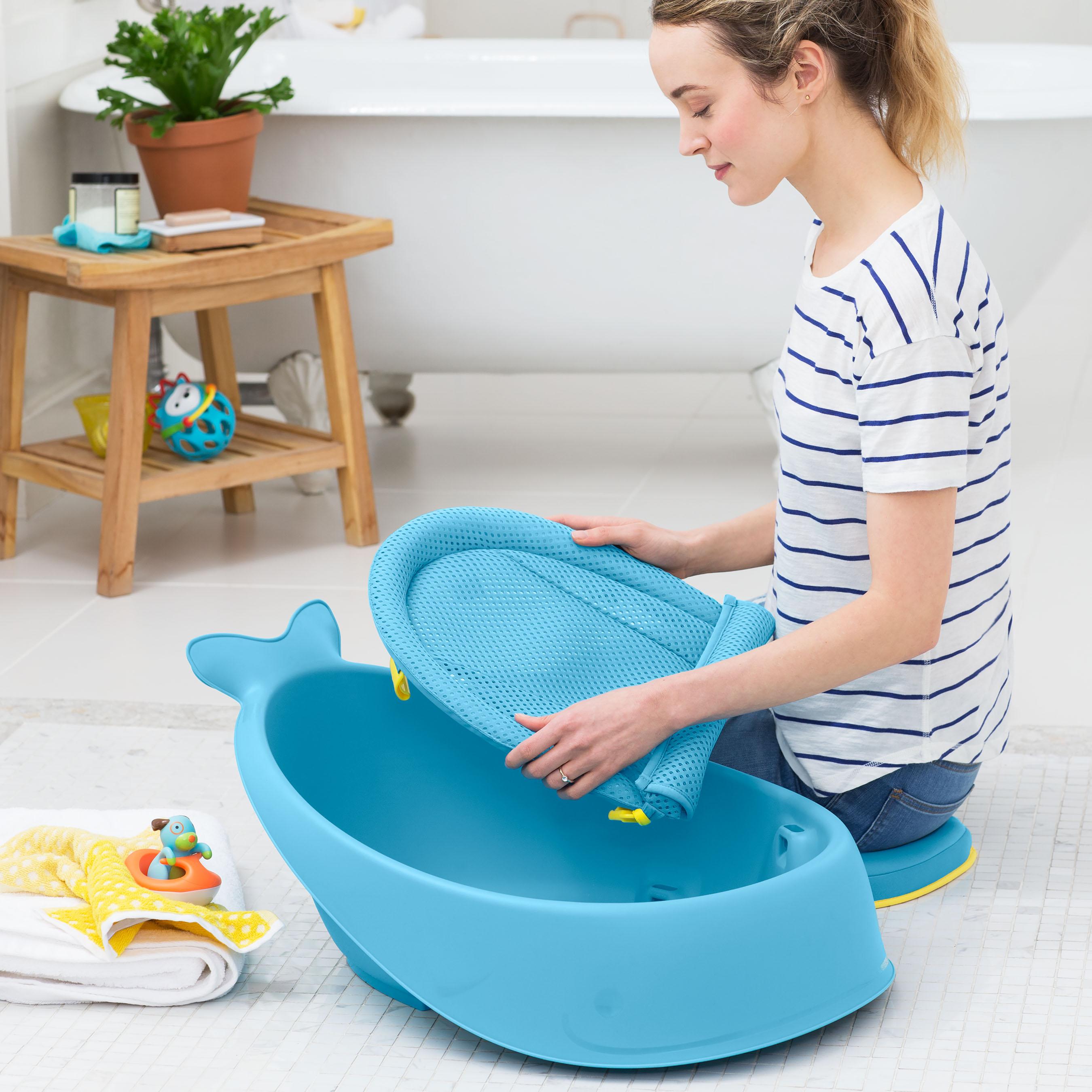 אמבטיה לתינוקות 3 שלבים