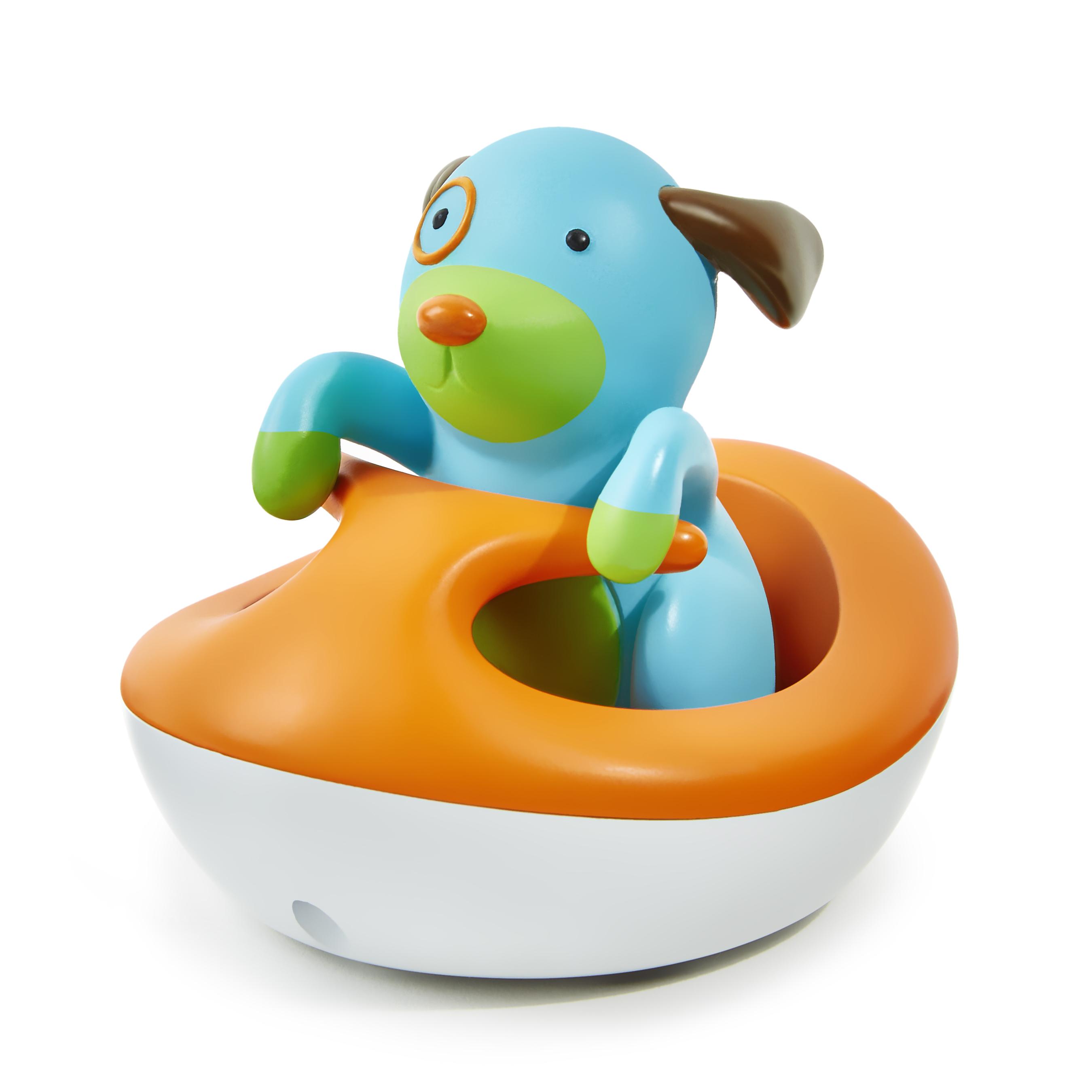 משחק אמבטיה - כלבלב באופנוע ים