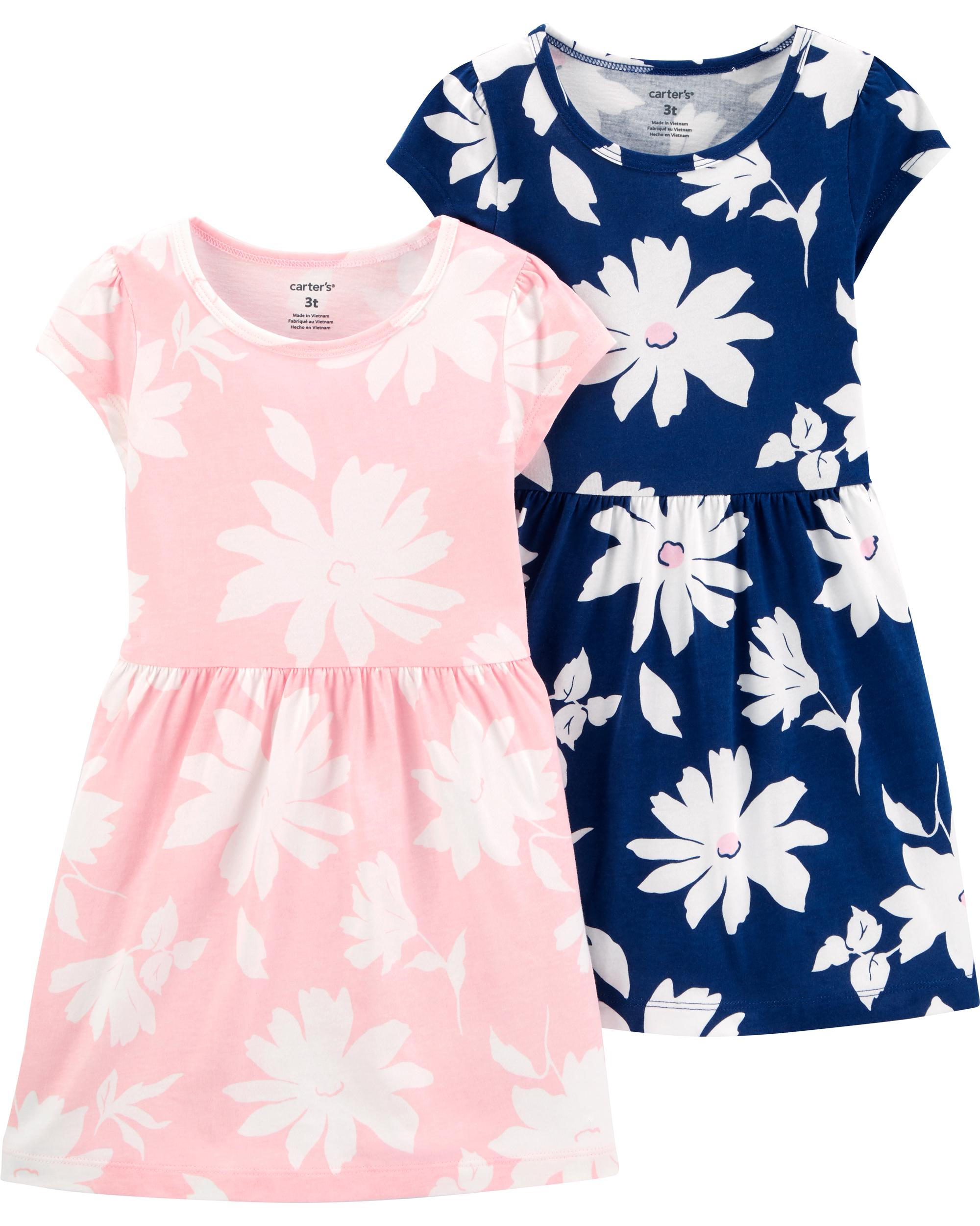 זוג שמלות פרחוניות