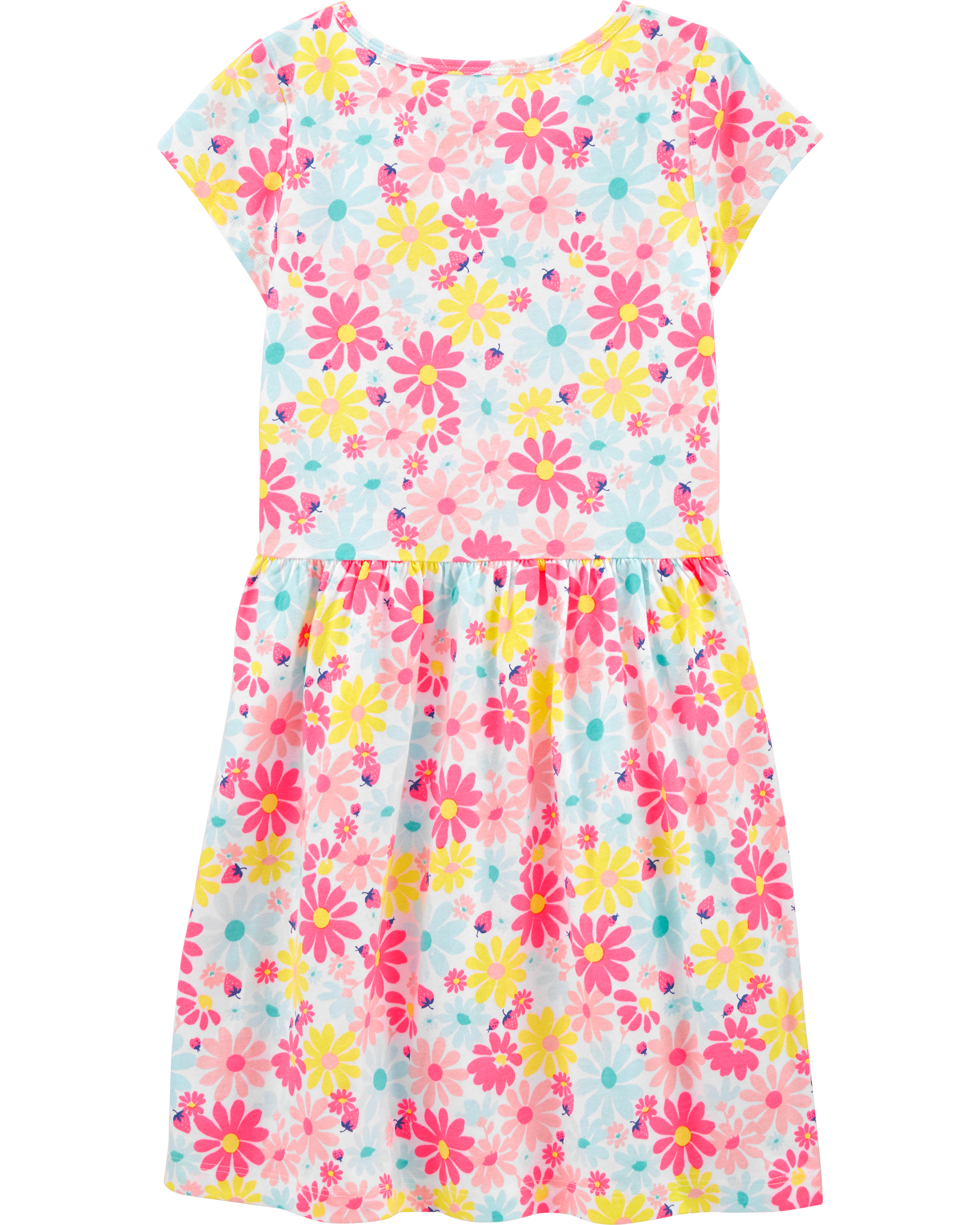 שמלת דפוס פרחים