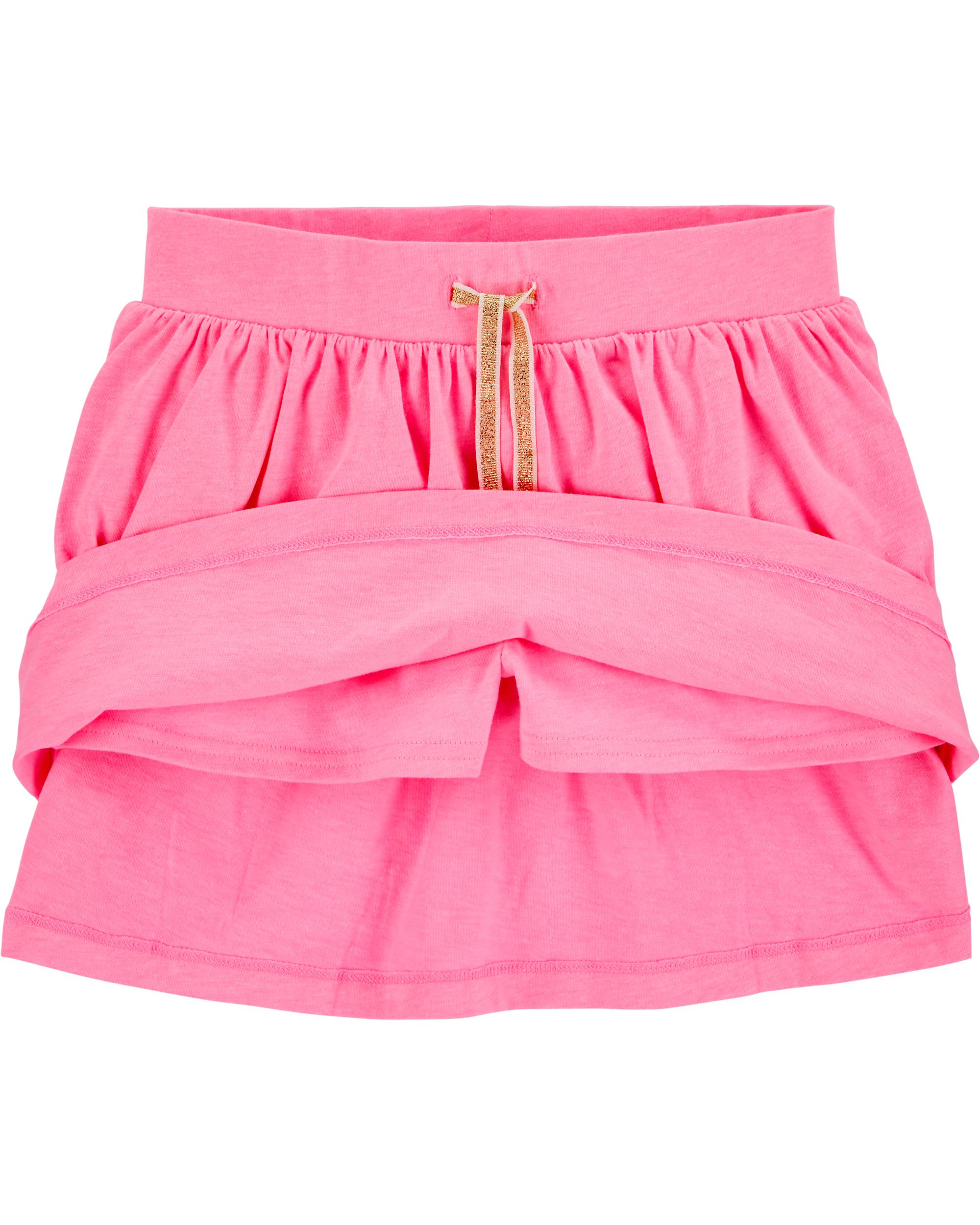 חצאית מכנס ורוד פוקסיה