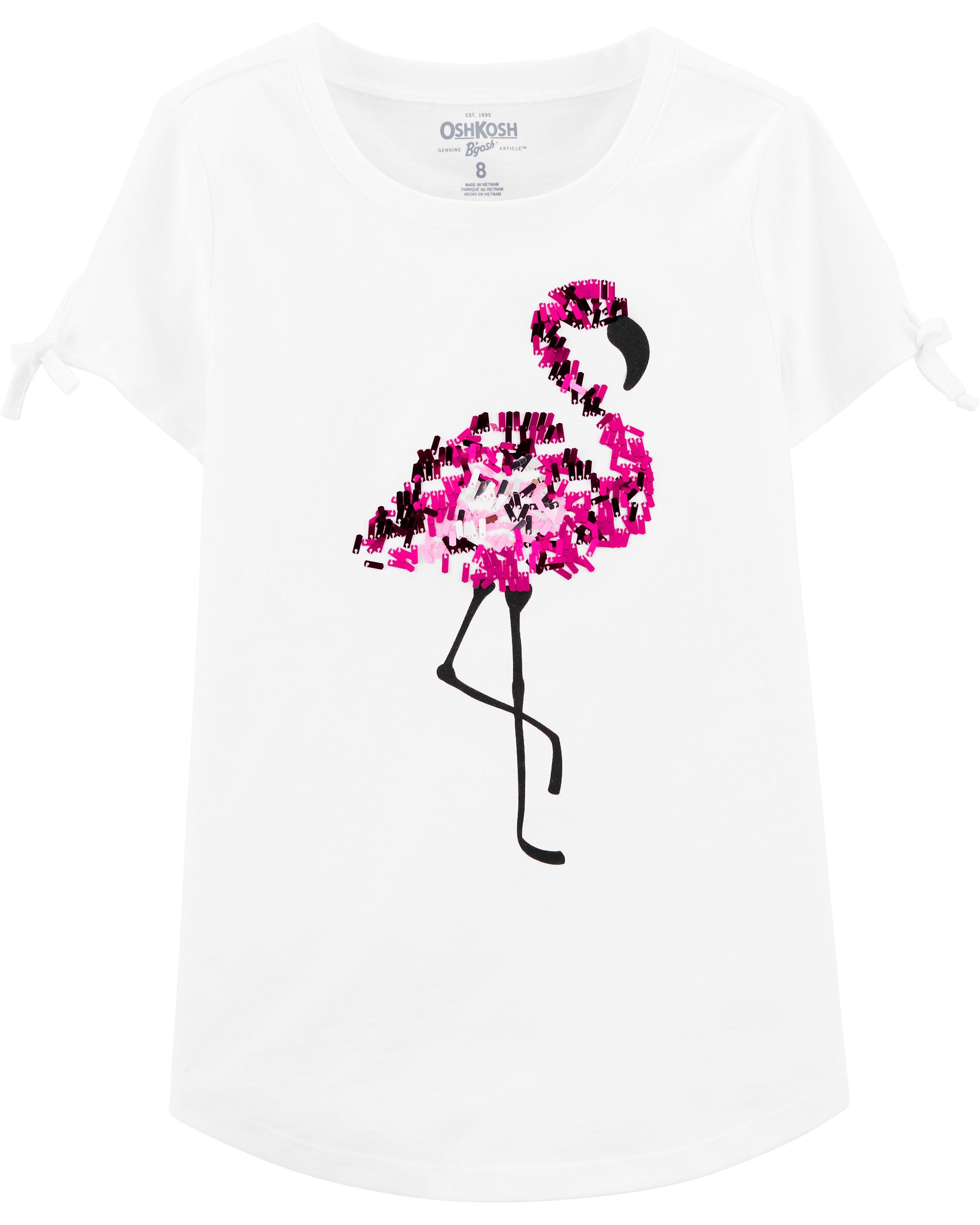 חולצת טי פלמינגו לבן
