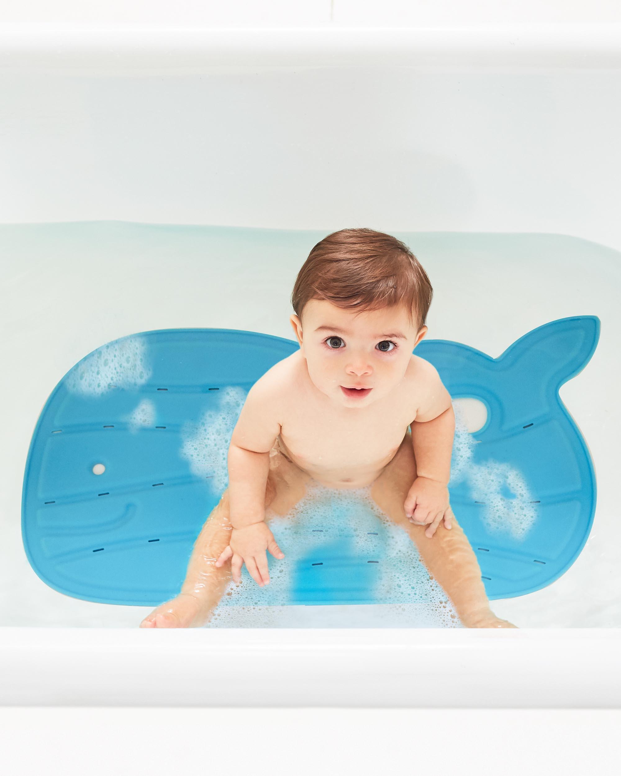 שטיח אמבטיה מובי כחול