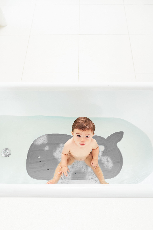שטיח אמבטיה מובי אפור