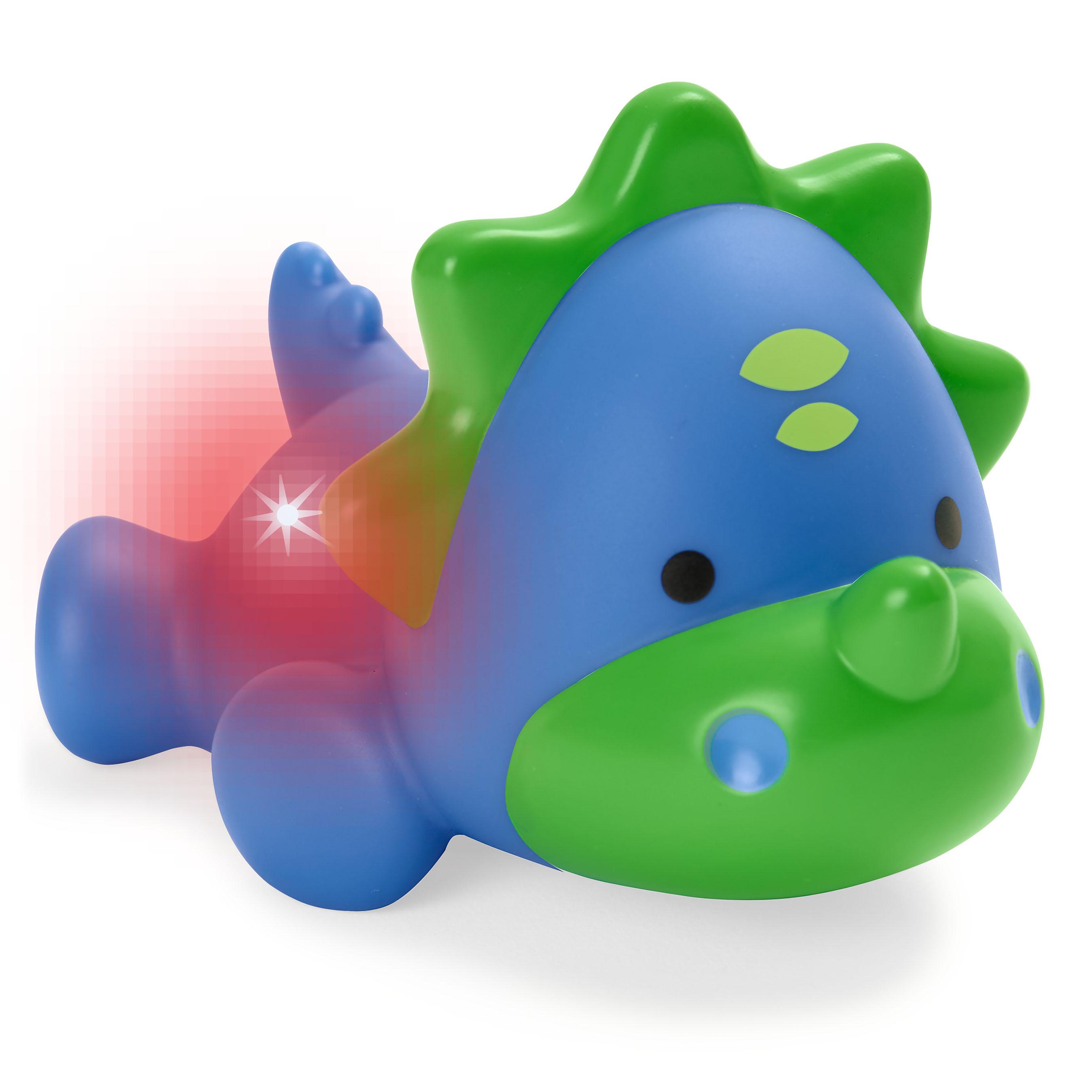 צעצוע אמבטיה - דינוזאור מנצנץ