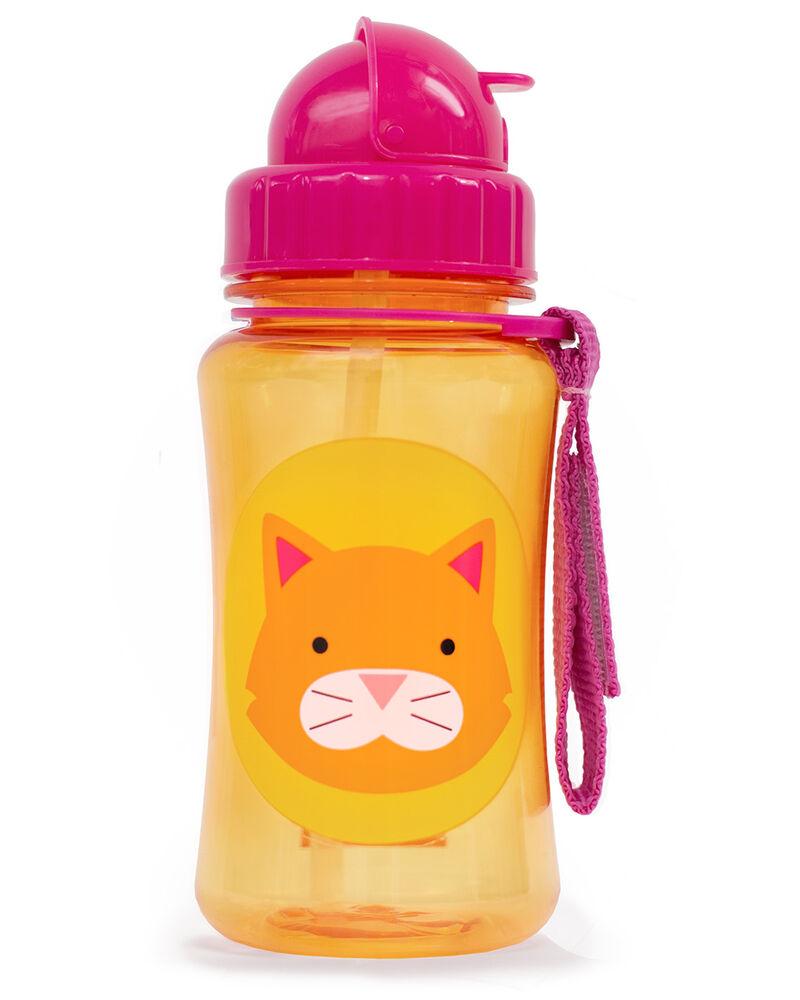 בקבוק שתיה עם קשית חתול