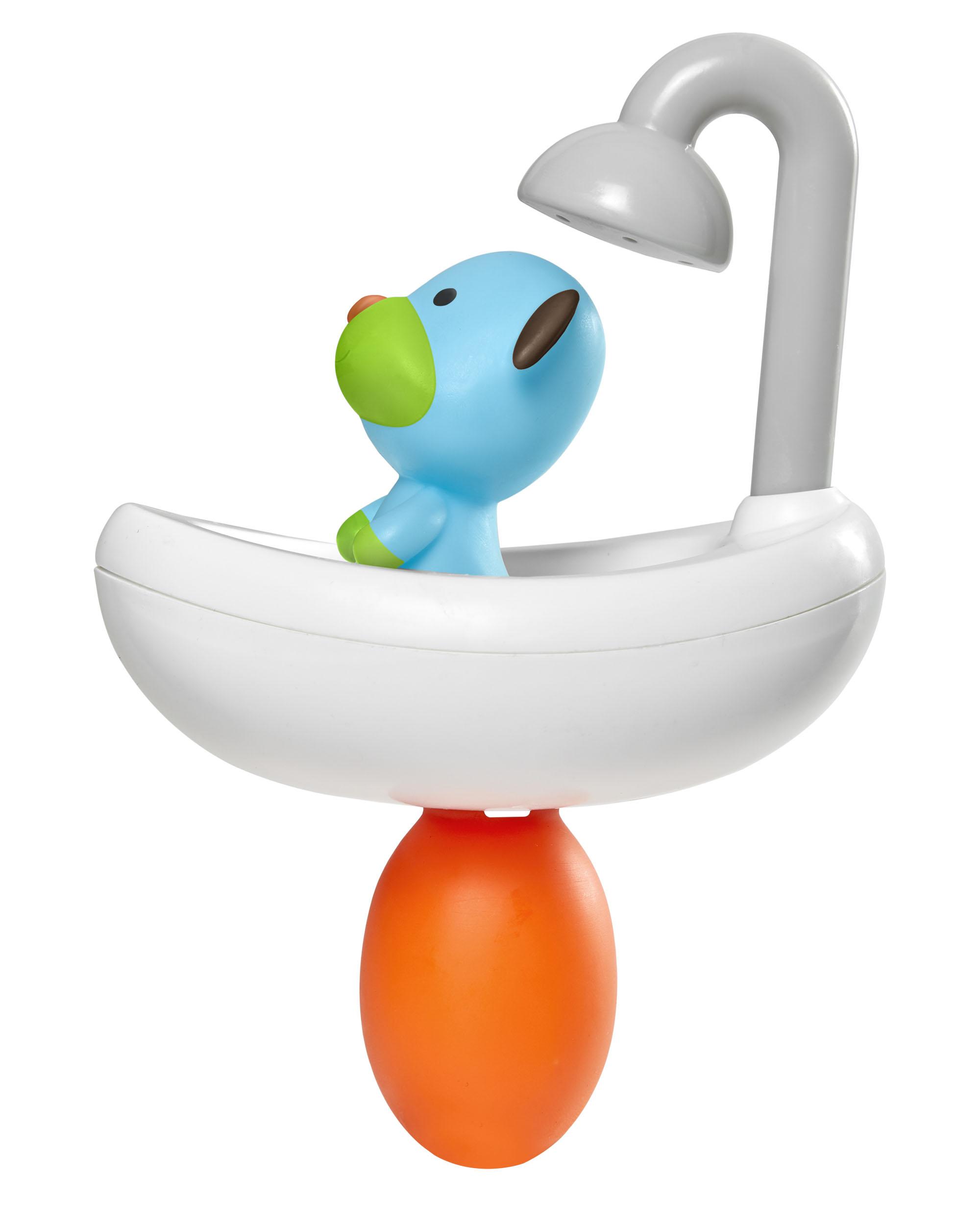 משחק אמבטיה כלב מתקלח